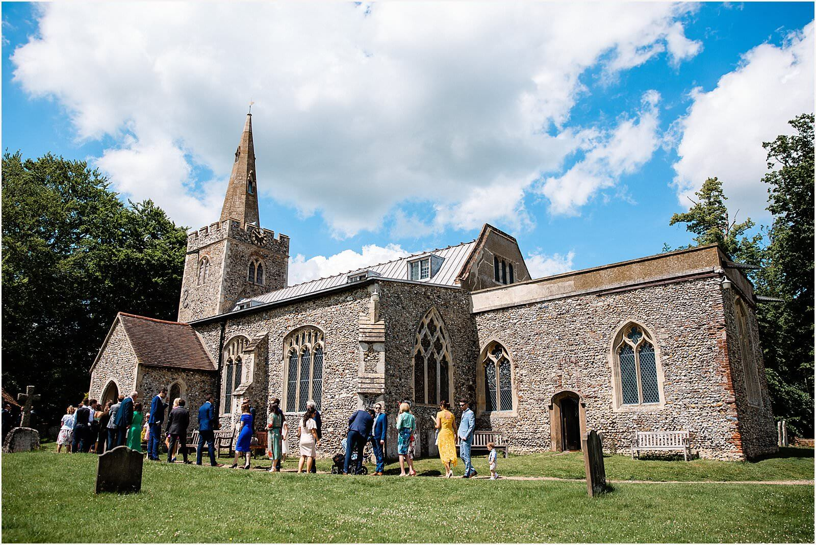 Polstead Church Wedding | Carla & Toby 15