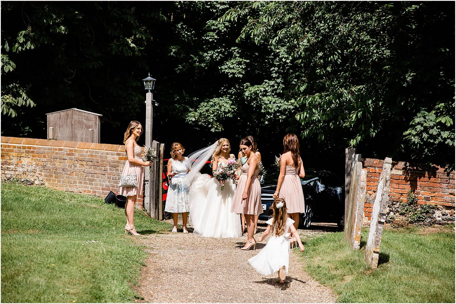 Polstead Church Wedding | Carla & Toby 20