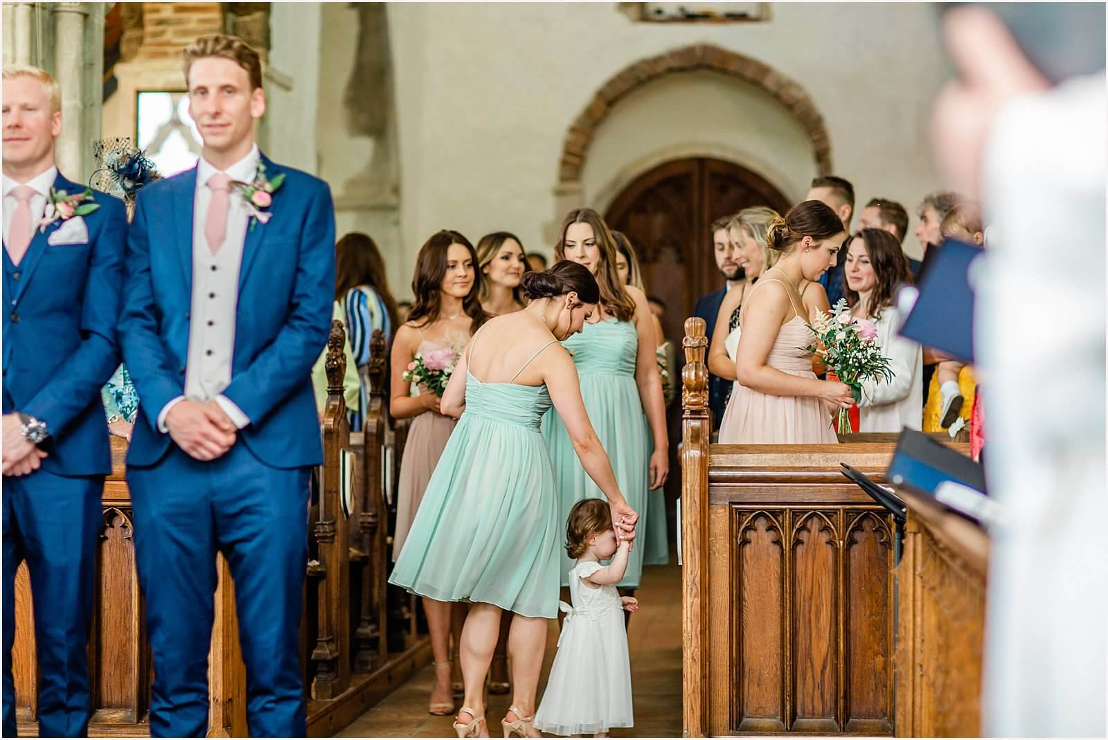 Polstead Church Wedding | Carla & Toby 25