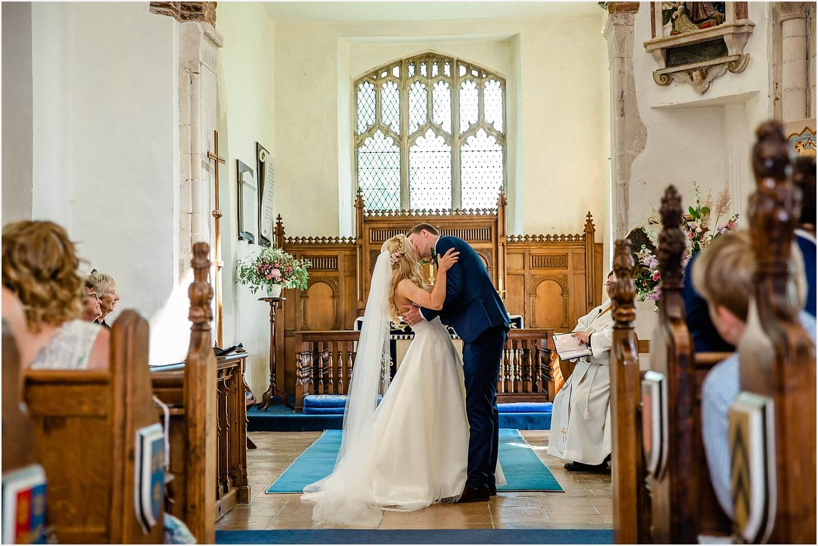 Polstead Church Wedding | Carla & Toby 30