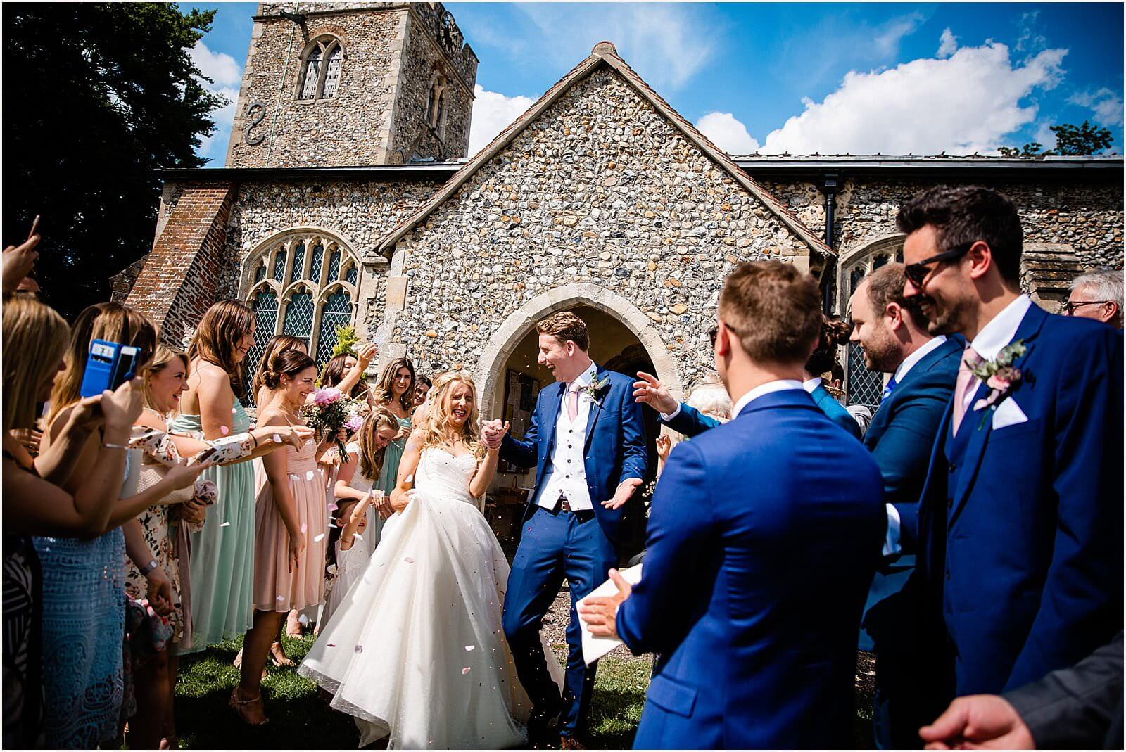 Polstead Church Wedding | Carla & Toby 33