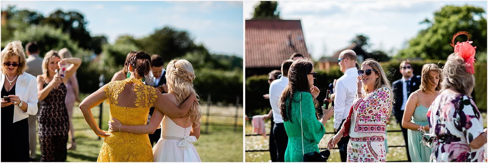 Polstead Church Wedding | Carla & Toby 41