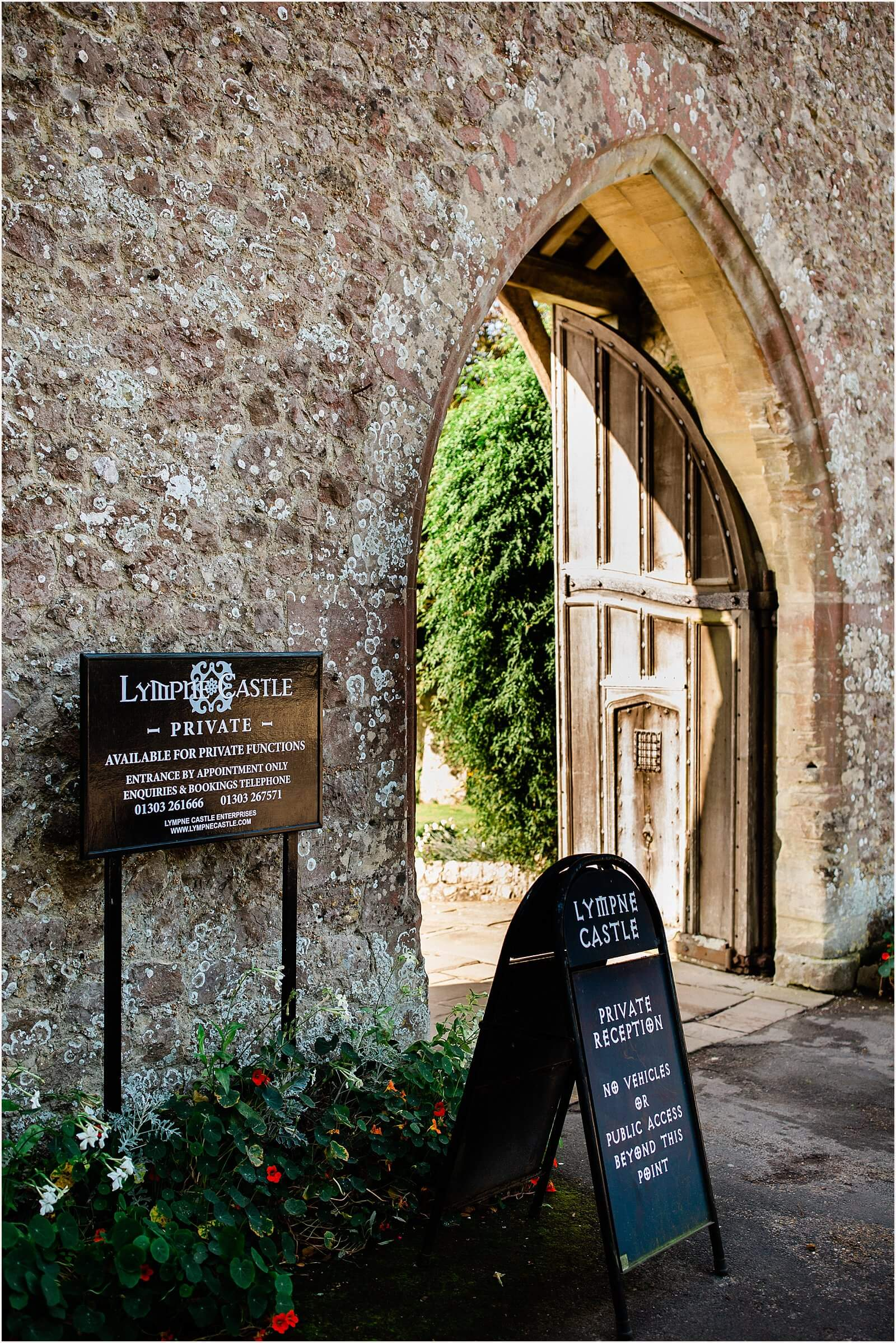 Lympne Castle Wedding | Louise & Rob 1
