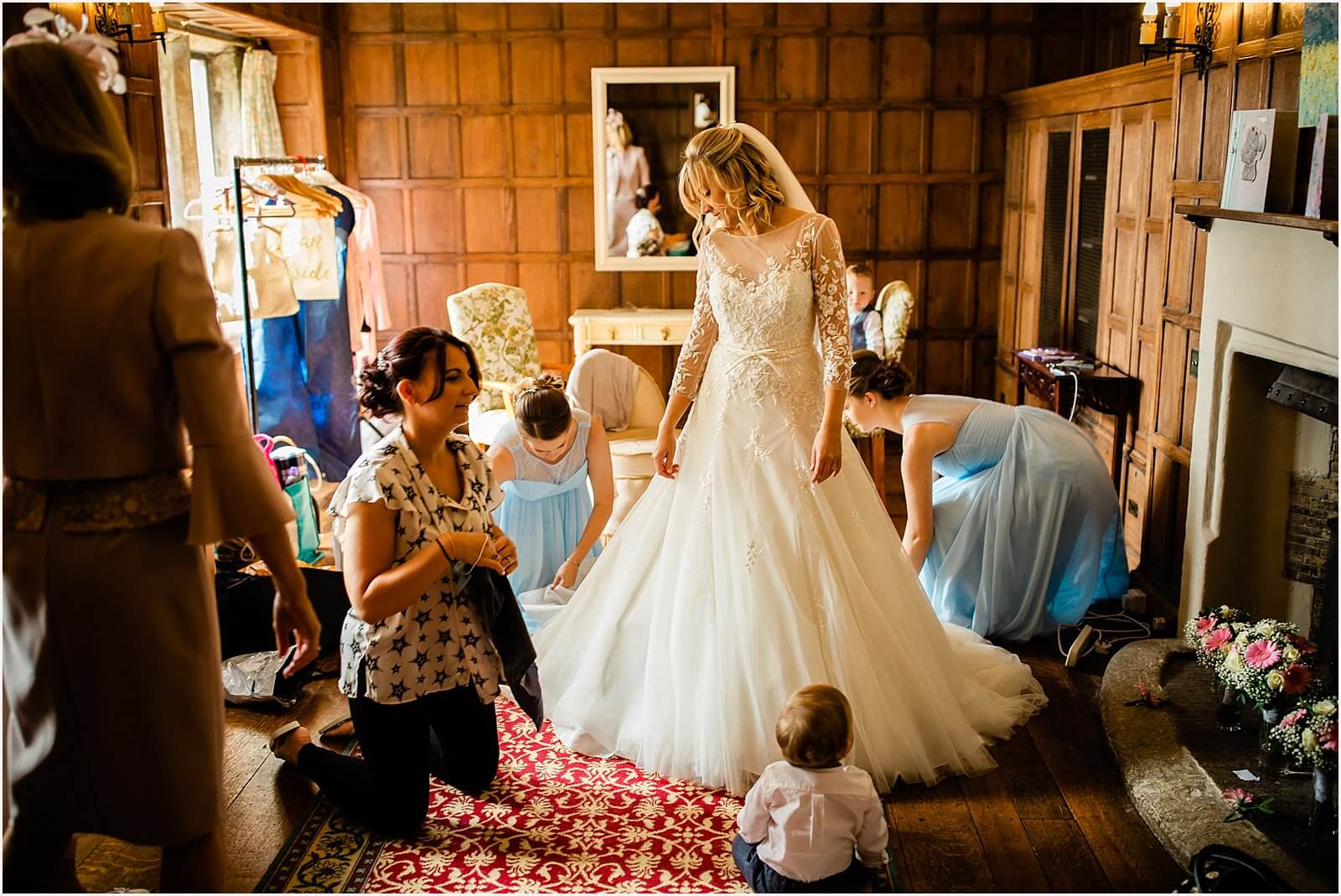 Lympne Castle Wedding | Louise & Rob 20