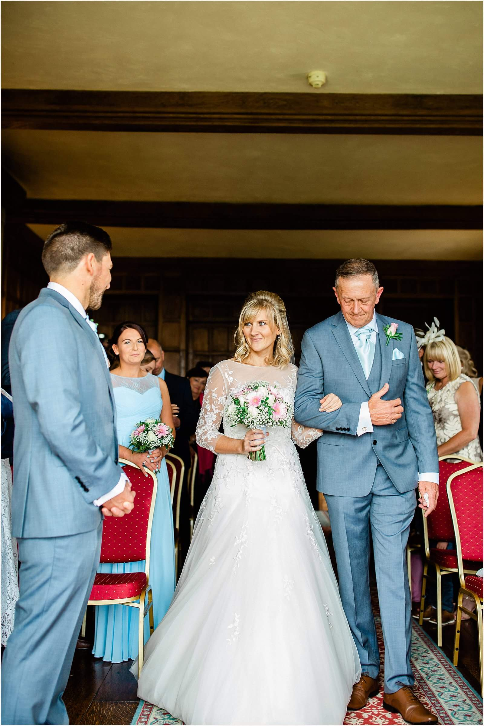 Lympne Castle Wedding | Louise & Rob 27
