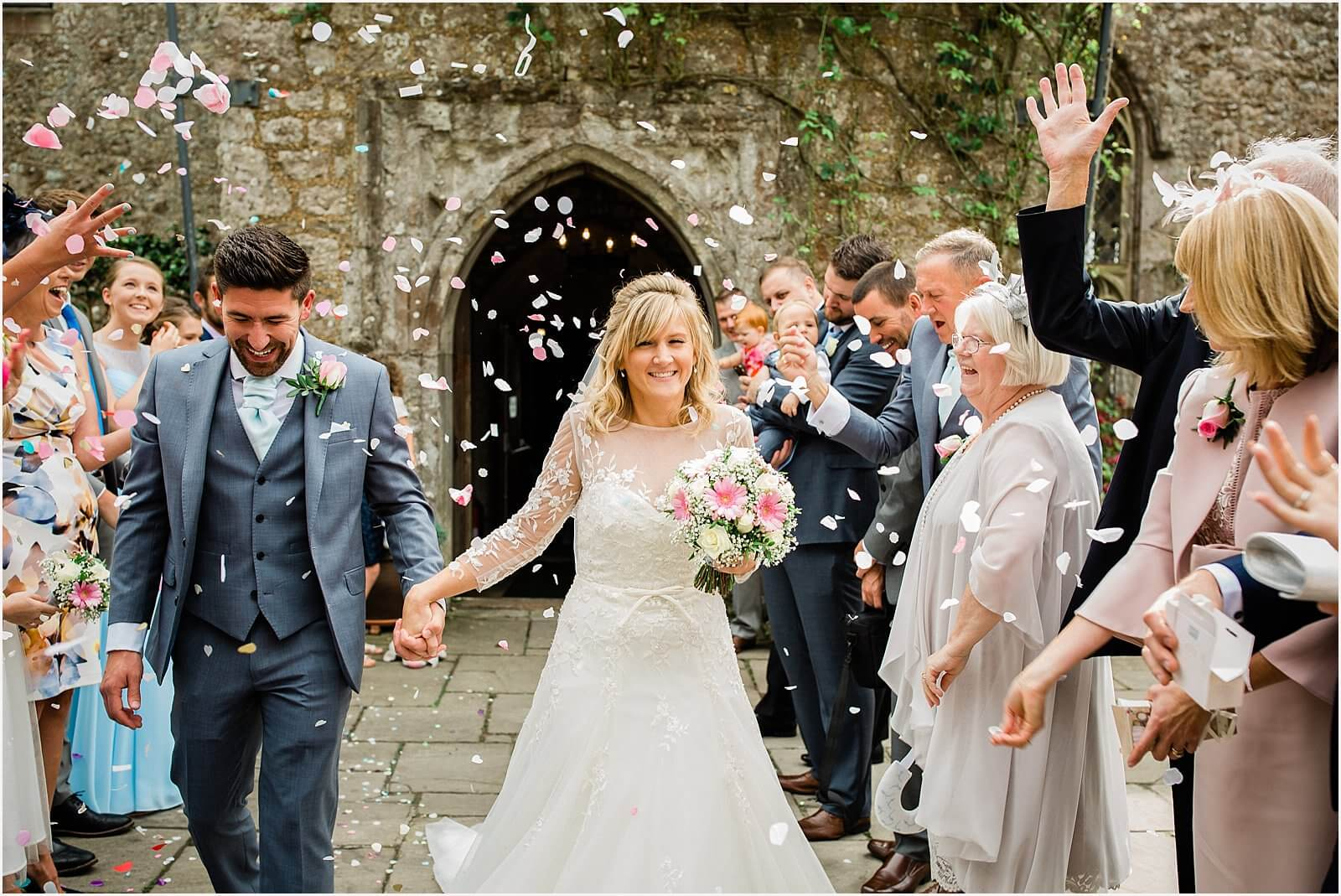 Lympne Castle Wedding | Louise & Rob 37