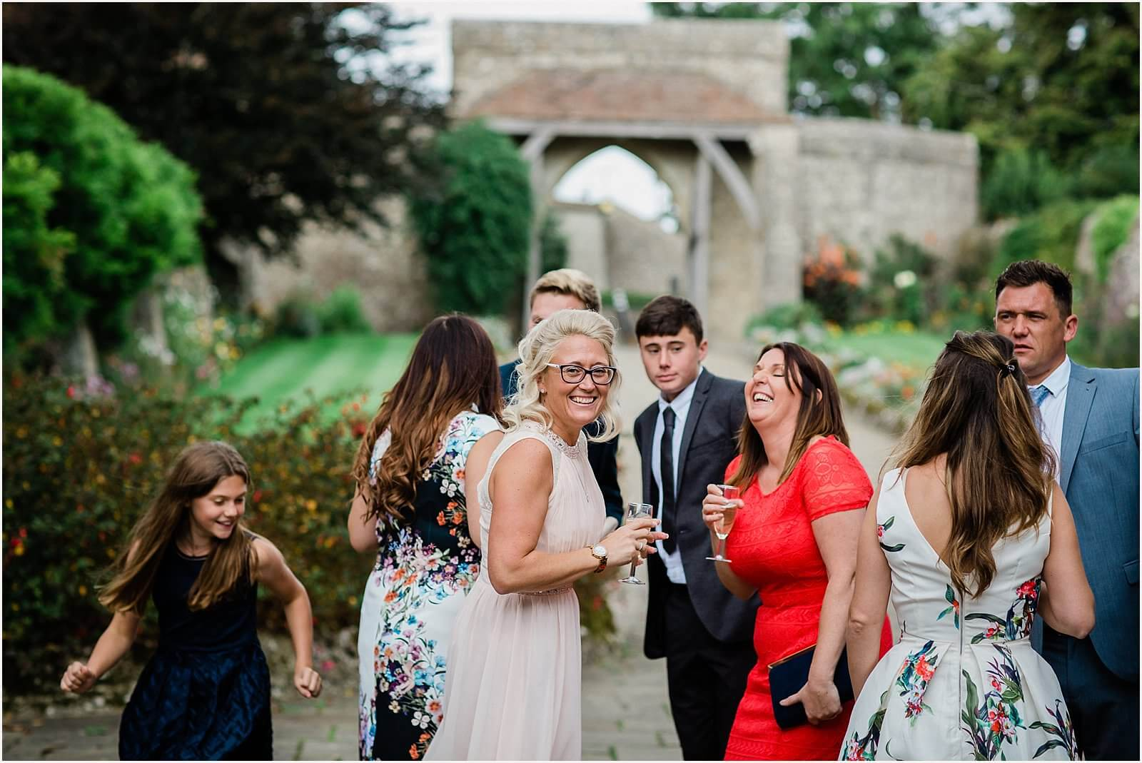 Lympne Castle Wedding | Louise & Rob 39
