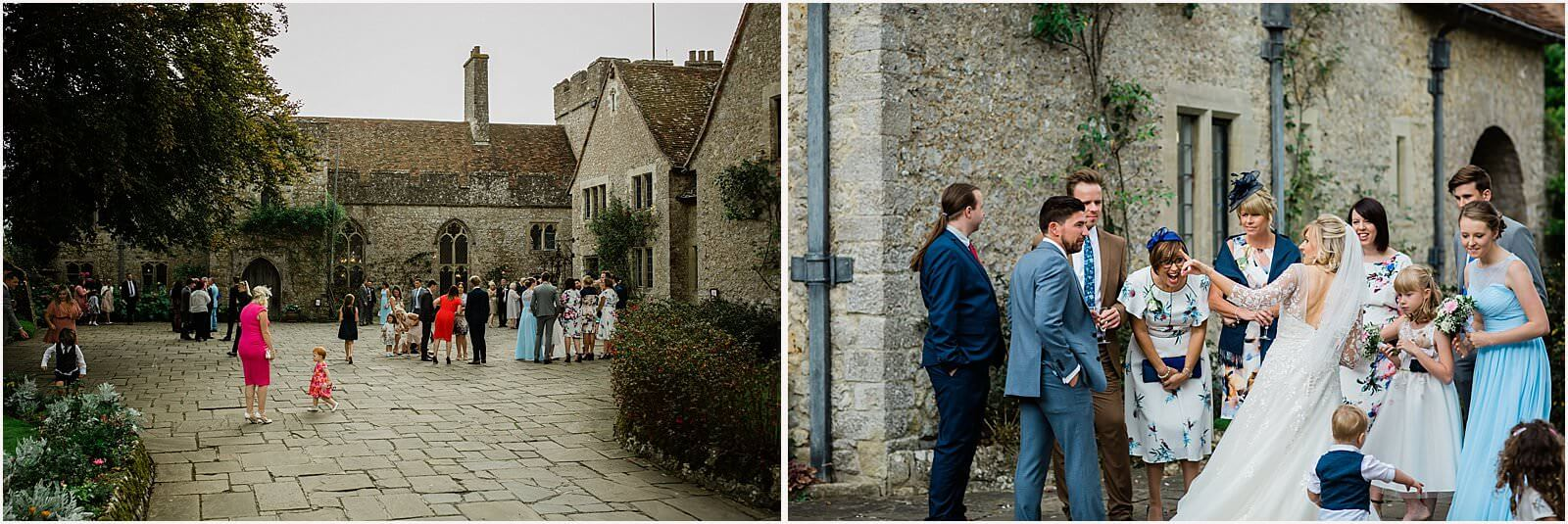 Lympne Castle Wedding | Louise & Rob 40
