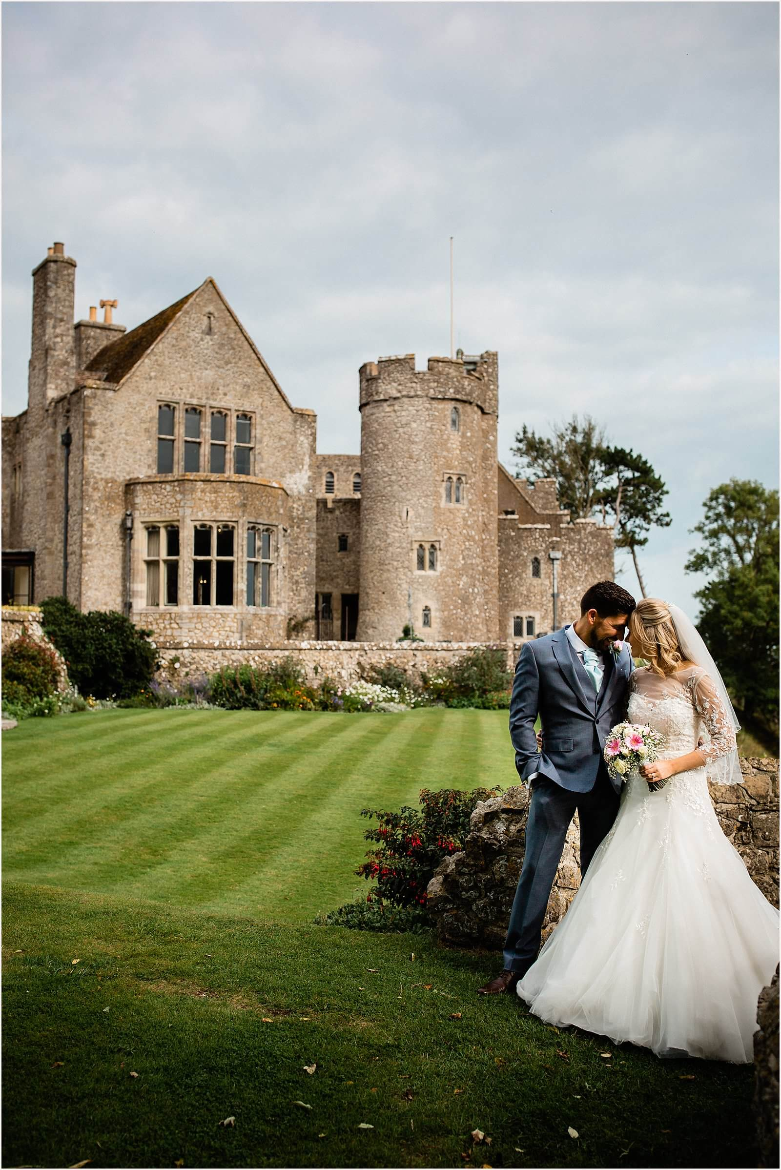 Lympne Castle Wedding | Louise & Rob 42