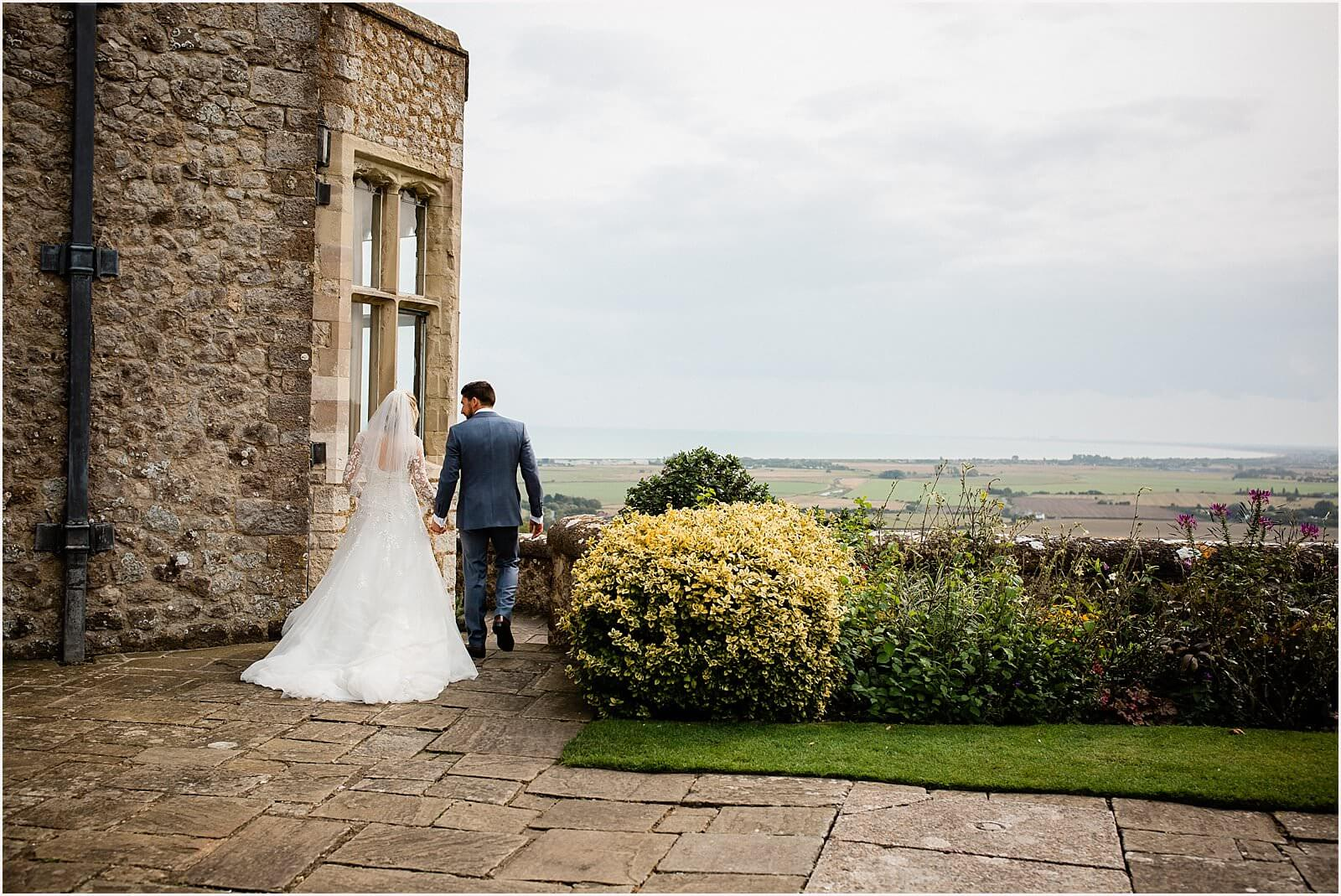 Lympne Castle Wedding | Louise & Rob 45