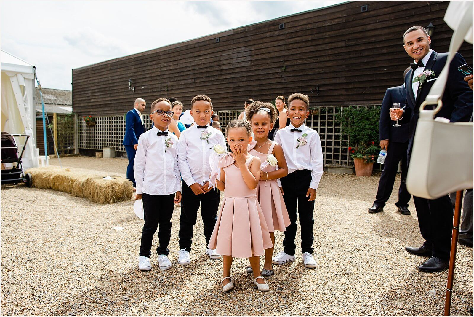 Swallows Oast Wedding - Jakki + Luke's barn wedding photography 32
