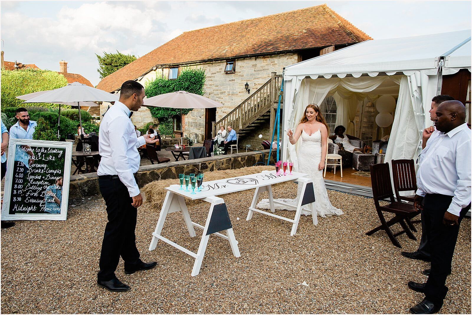 Swallows Oast Wedding - Jakki + Luke's barn wedding photography 56