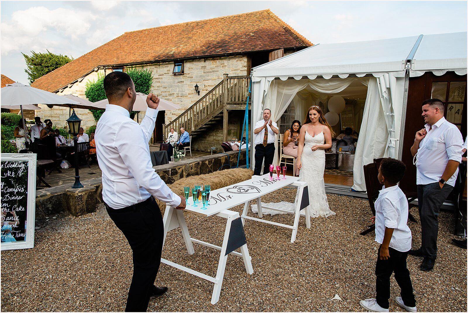 Swallows Oast Wedding - Jakki + Luke's barn wedding photography 57