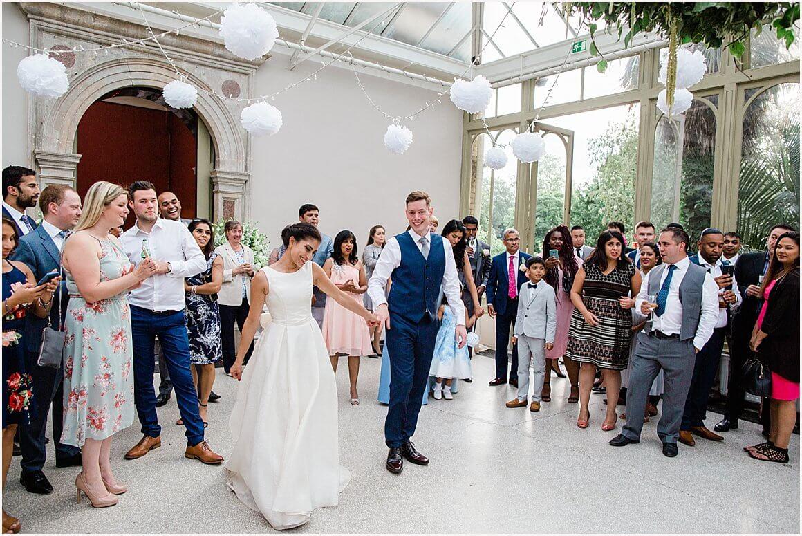 Hampton Court House Wedding | Nerrisa & Jason 92