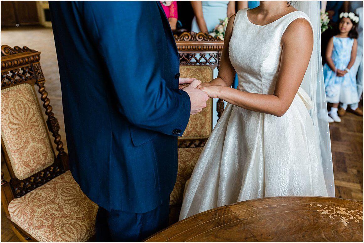 Hampton Court House Wedding | Nerrisa & Jason 40