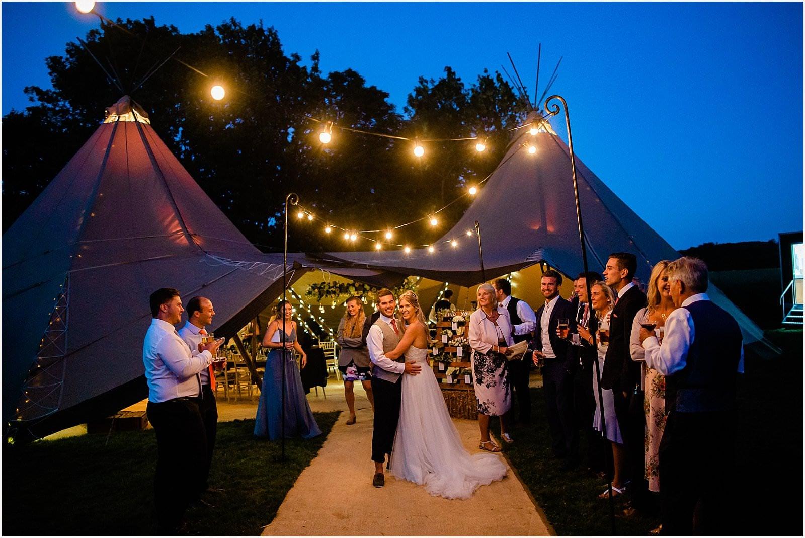 Fascinating! In the bride's words - Annie & Tim's wedding 4