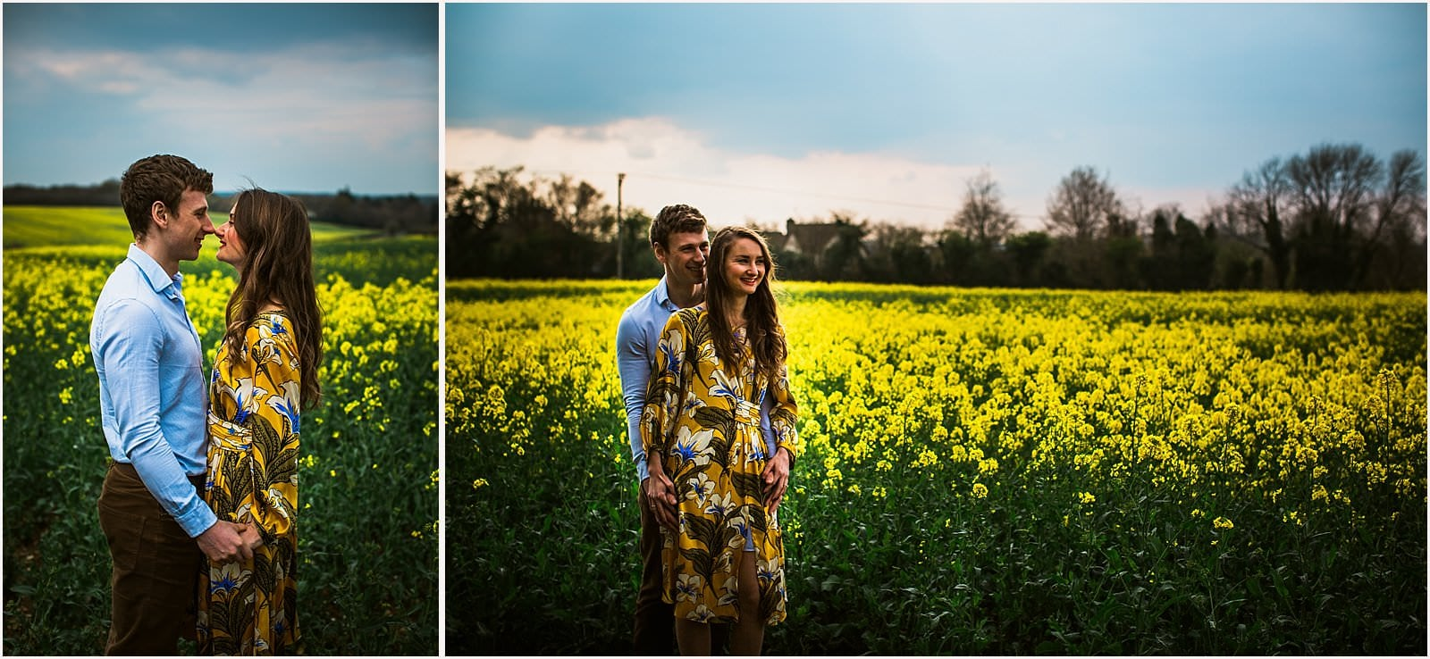 Hampshire Engagement Photography, Andover - C & L 1
