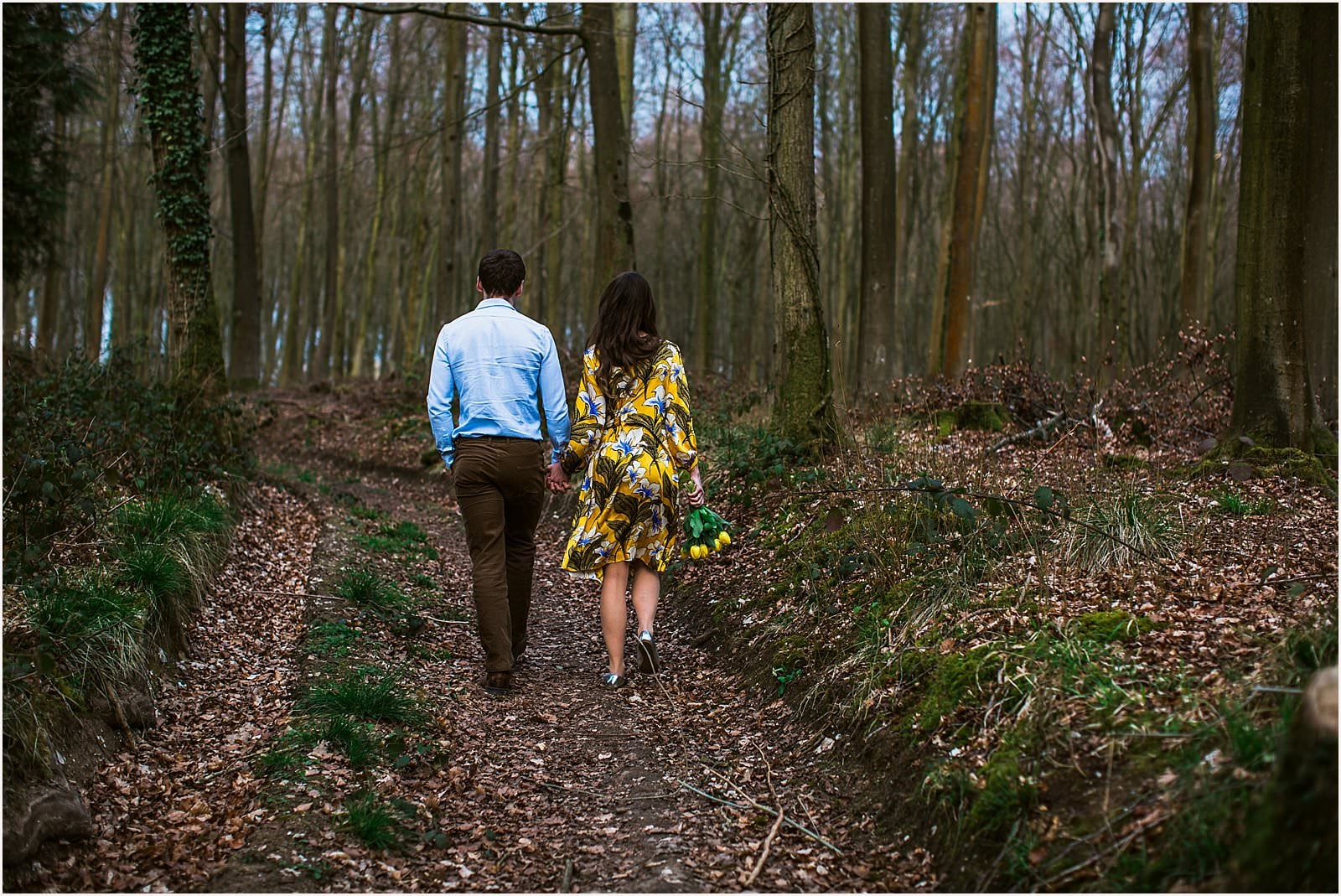 Hampshire Engagement Photography, Andover - C & L 6
