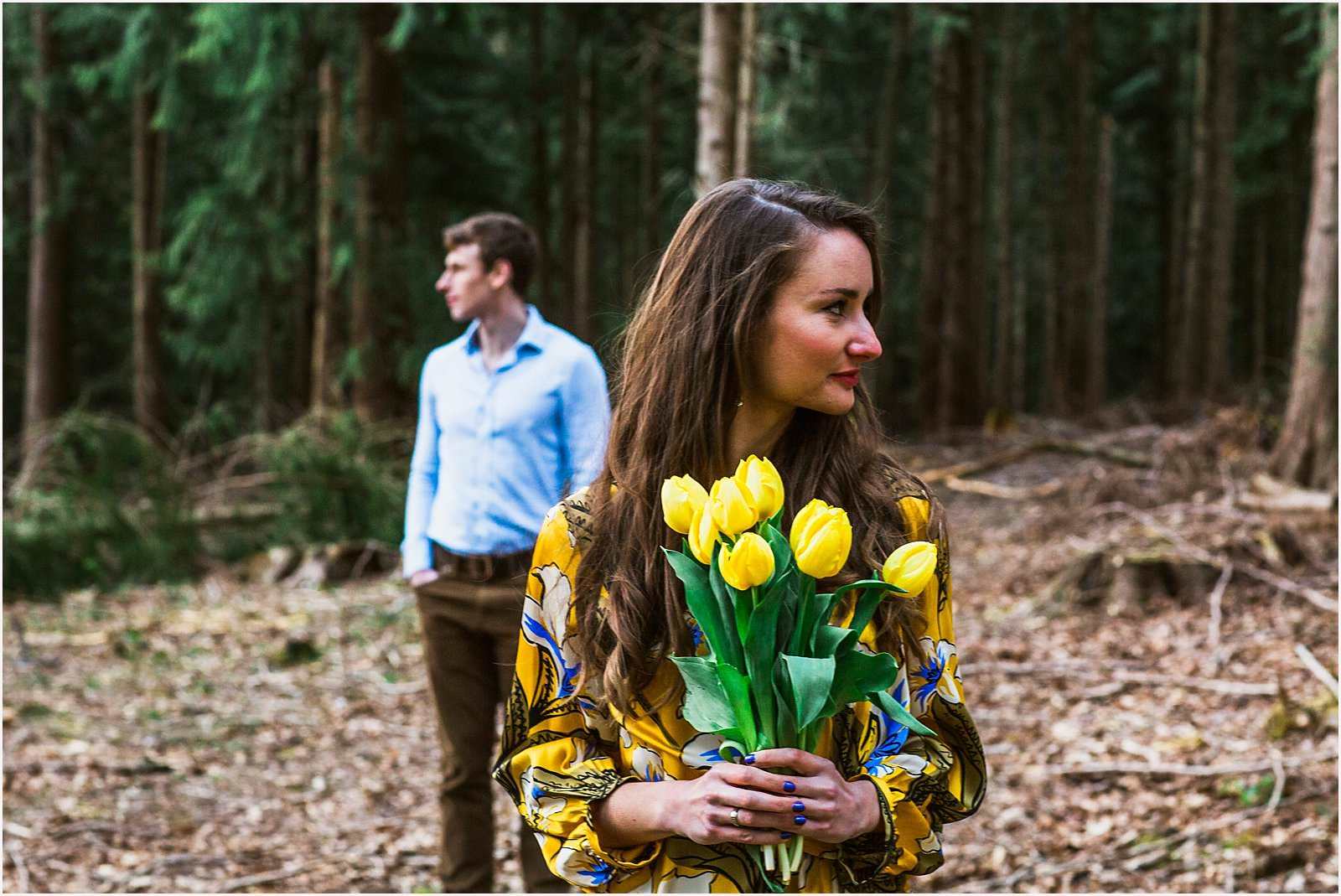Hampshire Engagement Photography, Andover - C & L 10