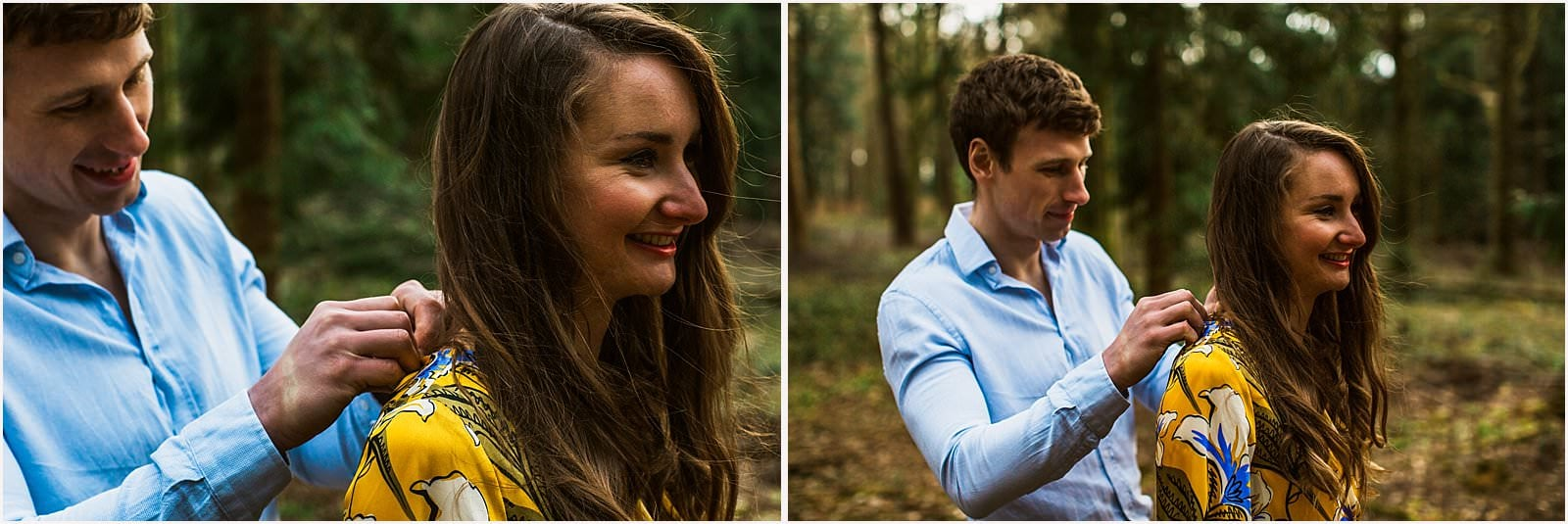 Hampshire Engagement Photography, Andover - C & L 11