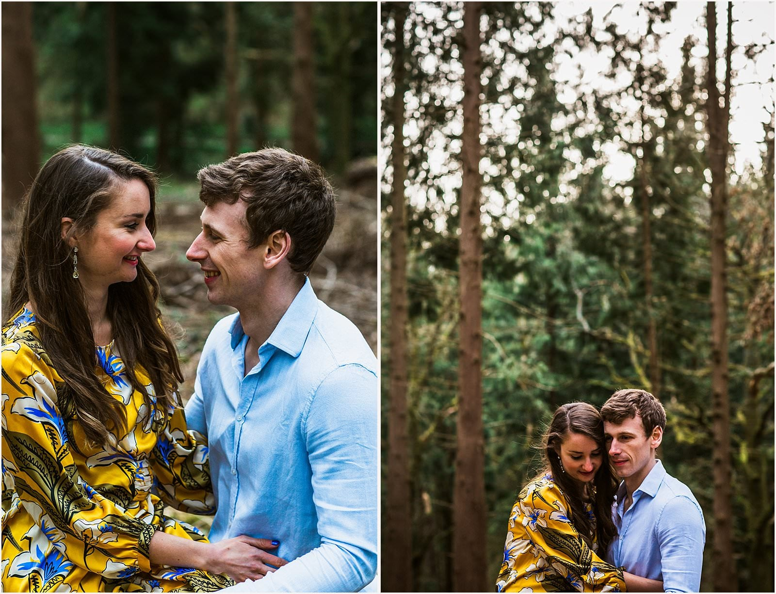 Hampshire Engagement Photography, Andover - C & L 12