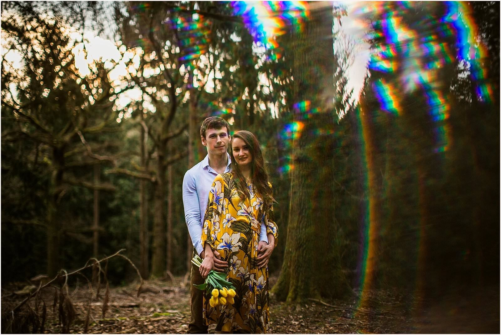 Hampshire Engagement Photography, Andover - C & L 13