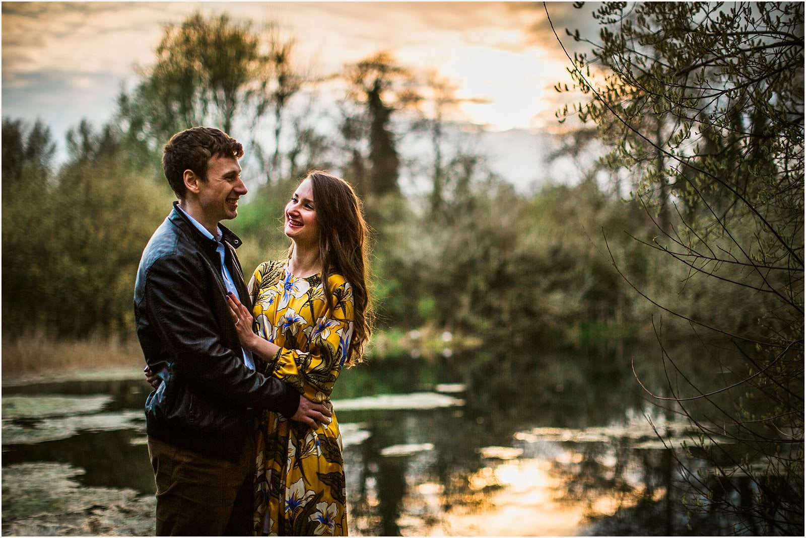 Hampshire Engagement Photography, Andover - C & L 15