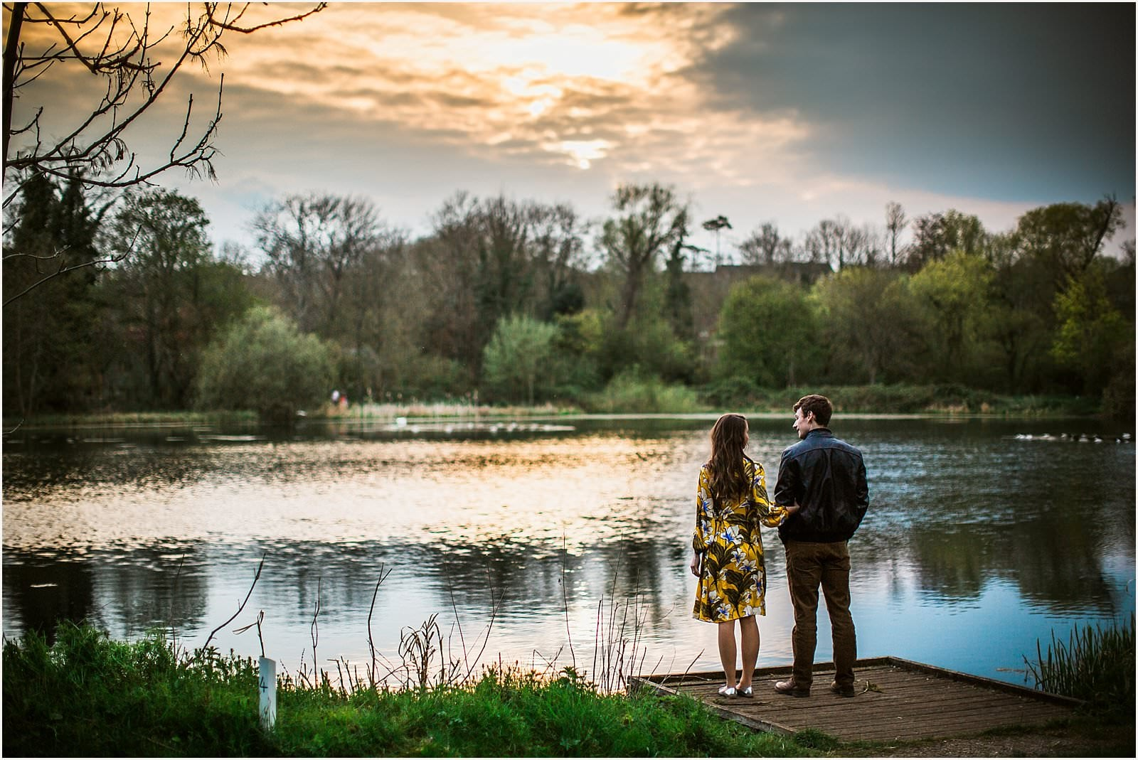 Hampshire Engagement Photography, Andover - C & L 16