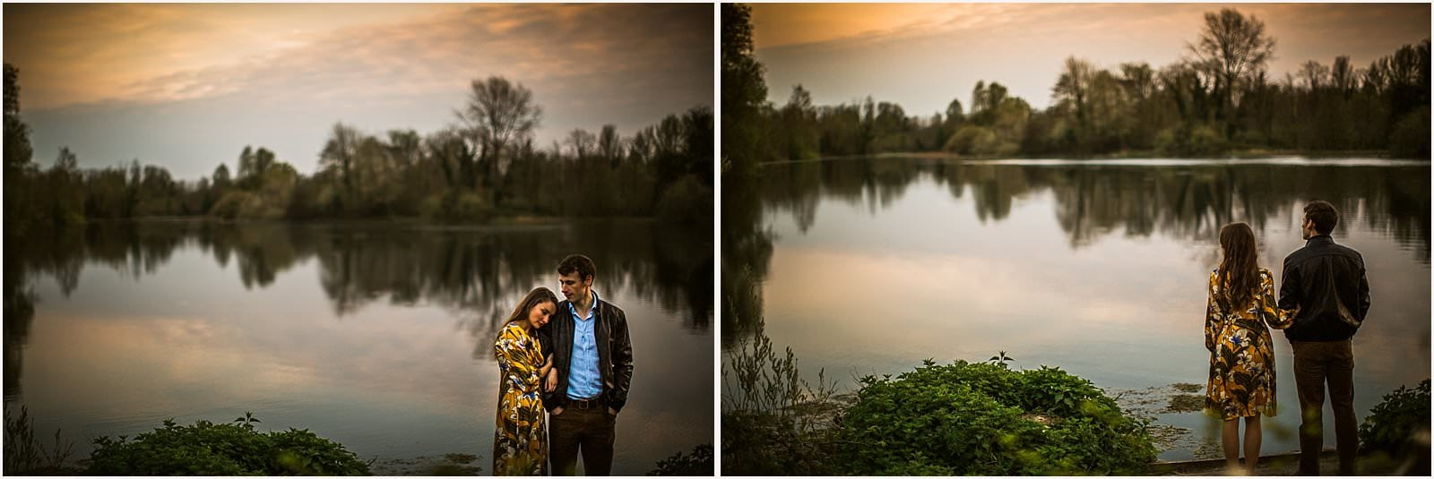 Hampshire Engagement Photography, Andover - C & L 18