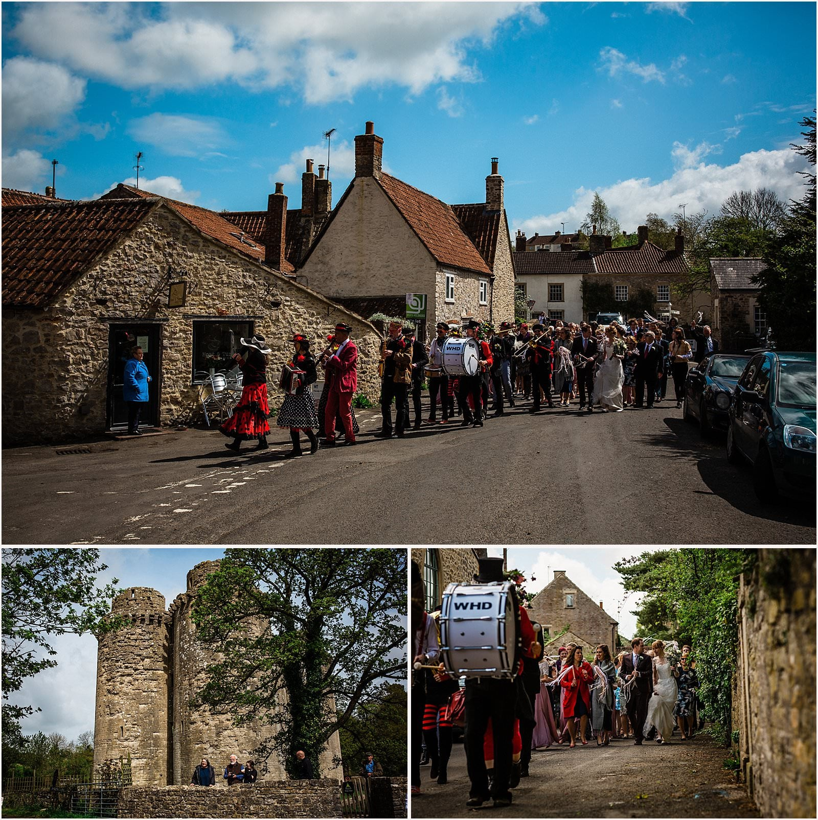 Breathtaking Nunney Castle, Somerset Wedding Photographer  - Sarah & Daniel 43