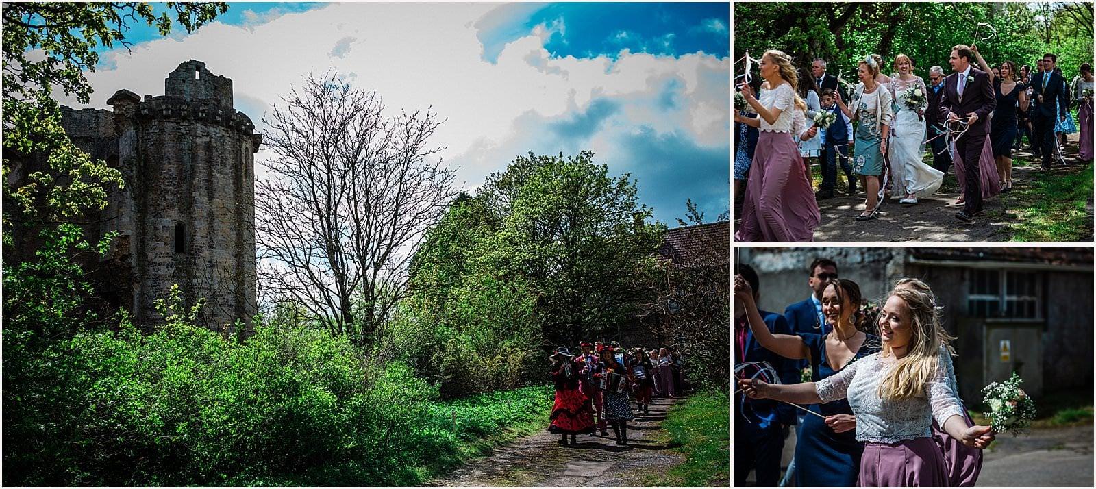 Breathtaking Nunney Castle, Somerset Wedding Photographer  - Sarah & Daniel 45