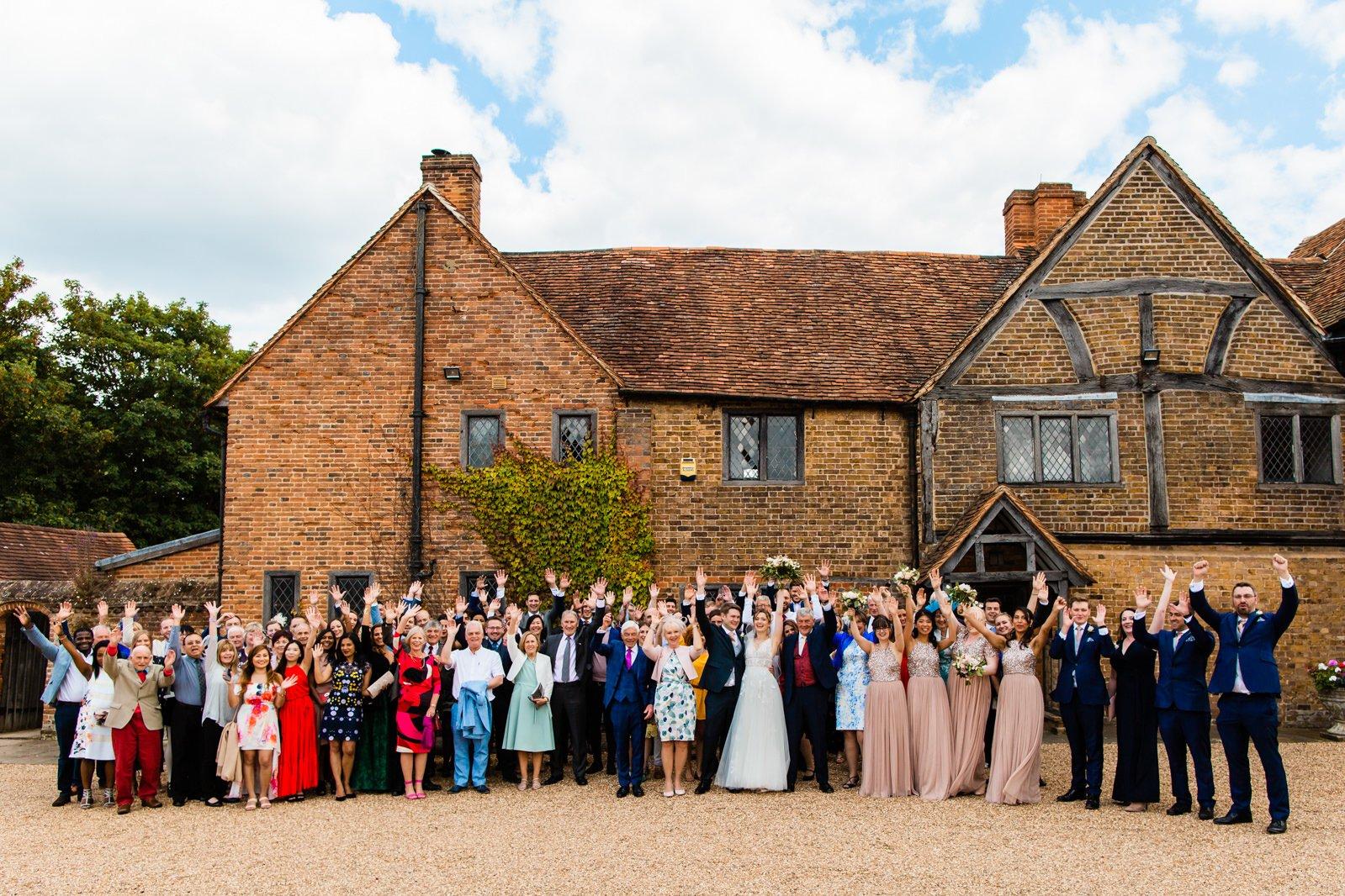 Beautiful Lillibrooke Manor Wedding - Ksenia & Iain 110