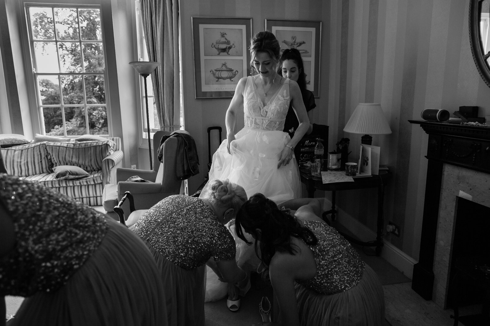Beautiful Lillibrooke Manor Wedding - Ksenia & Iain 43