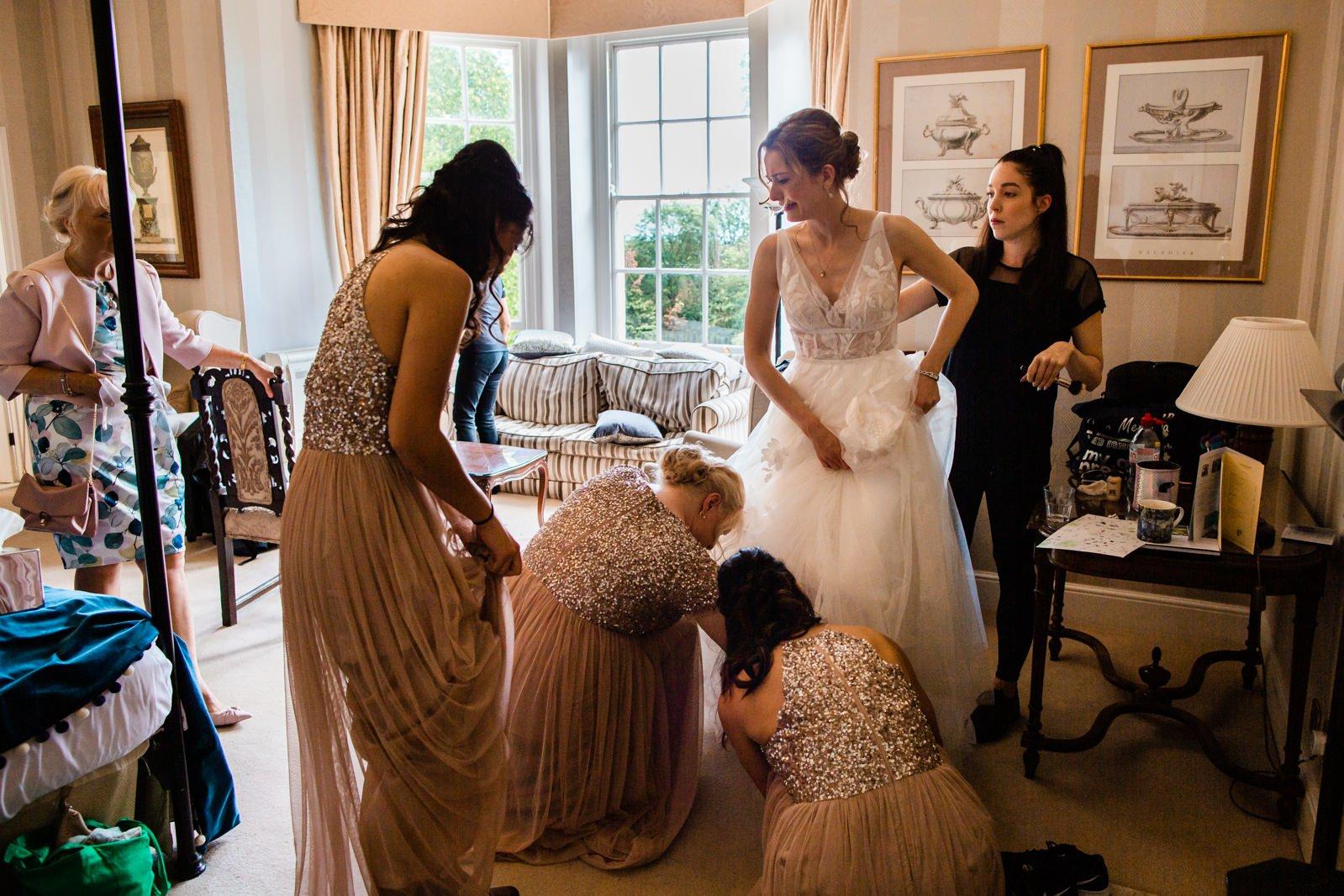 Beautiful Lillibrooke Manor Wedding - Ksenia & Iain 42