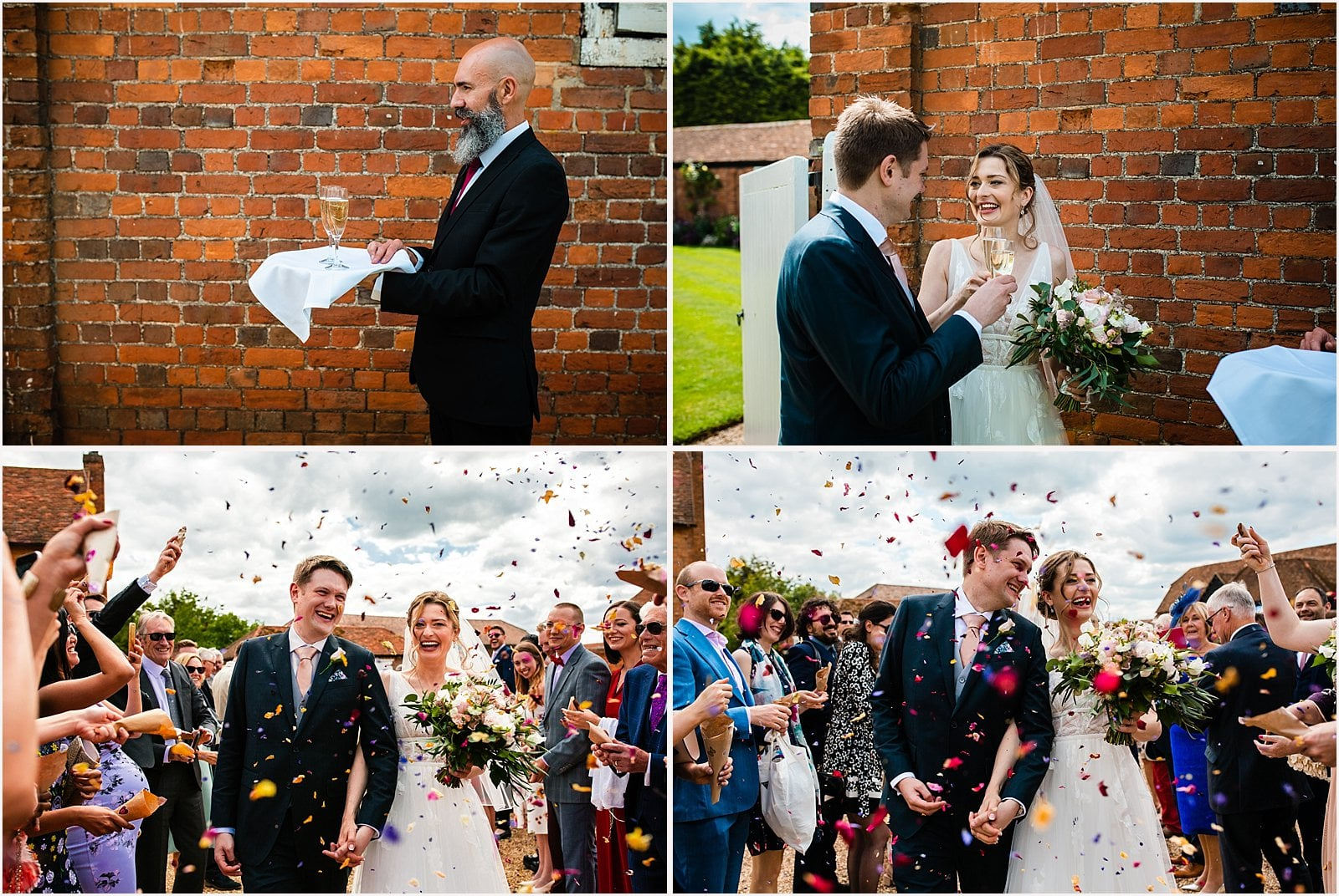 Beautiful Lillibrooke Manor Wedding - Ksenia & Iain 26