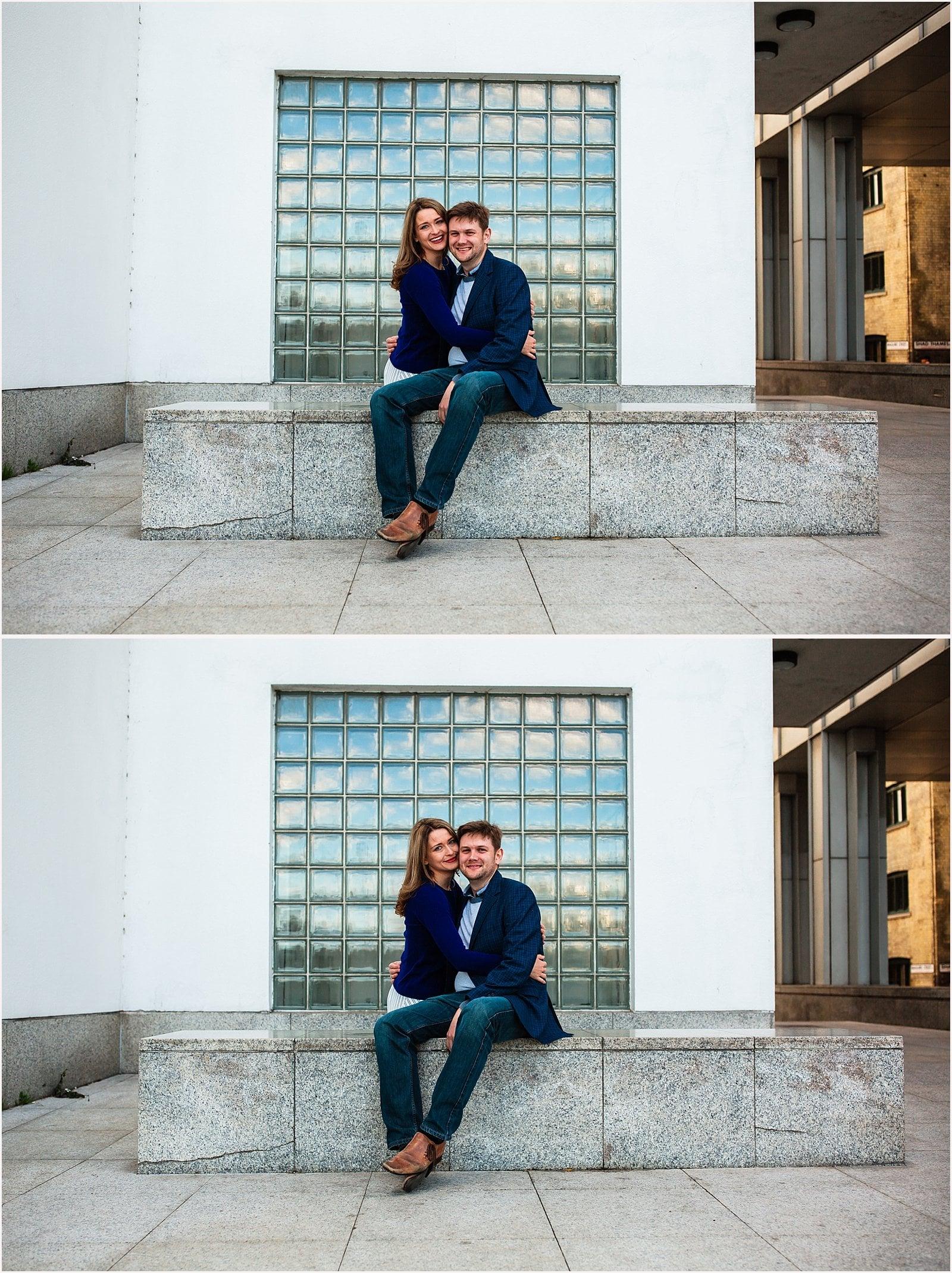 Stunning London Engagement Photos - Ksenia & Iain 2