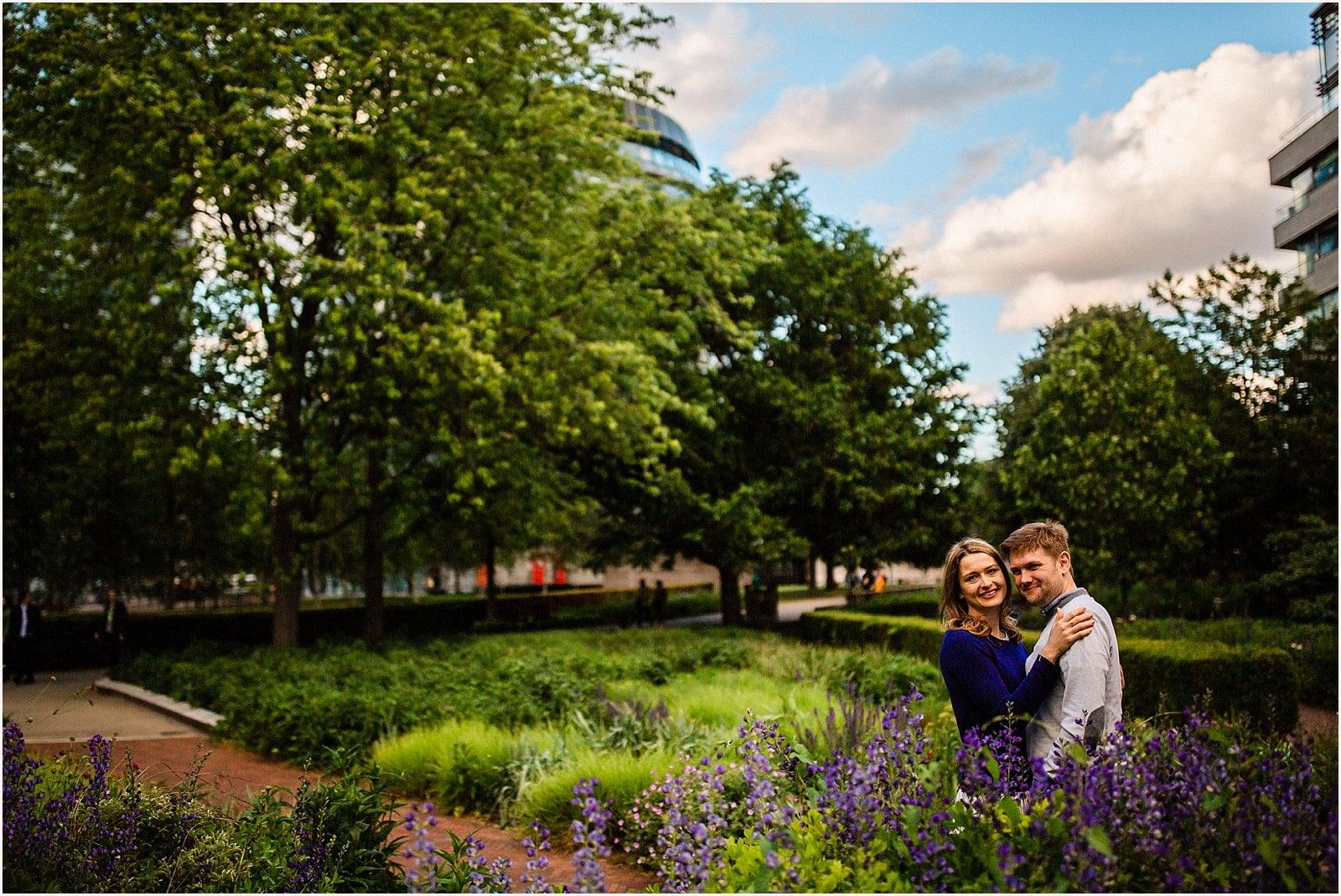 Stunning London Engagement Photos - Ksenia & Iain 12