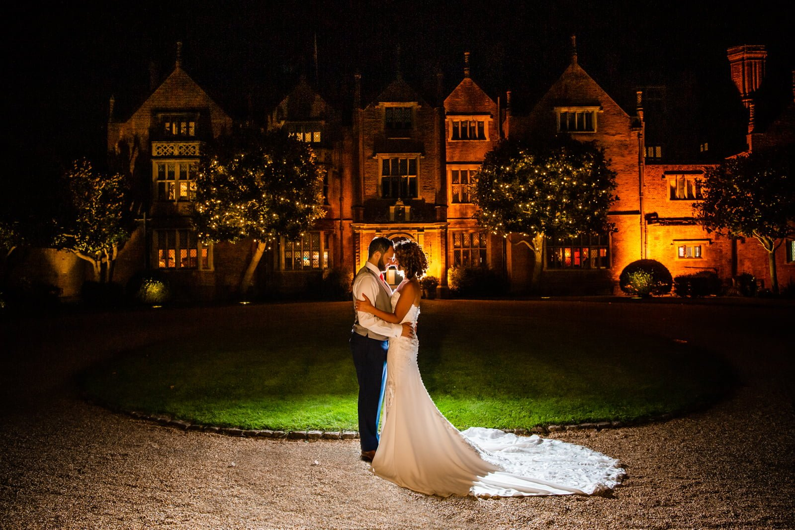 Beautiful Great Fosters Wedding - Melania & Benjamin 87