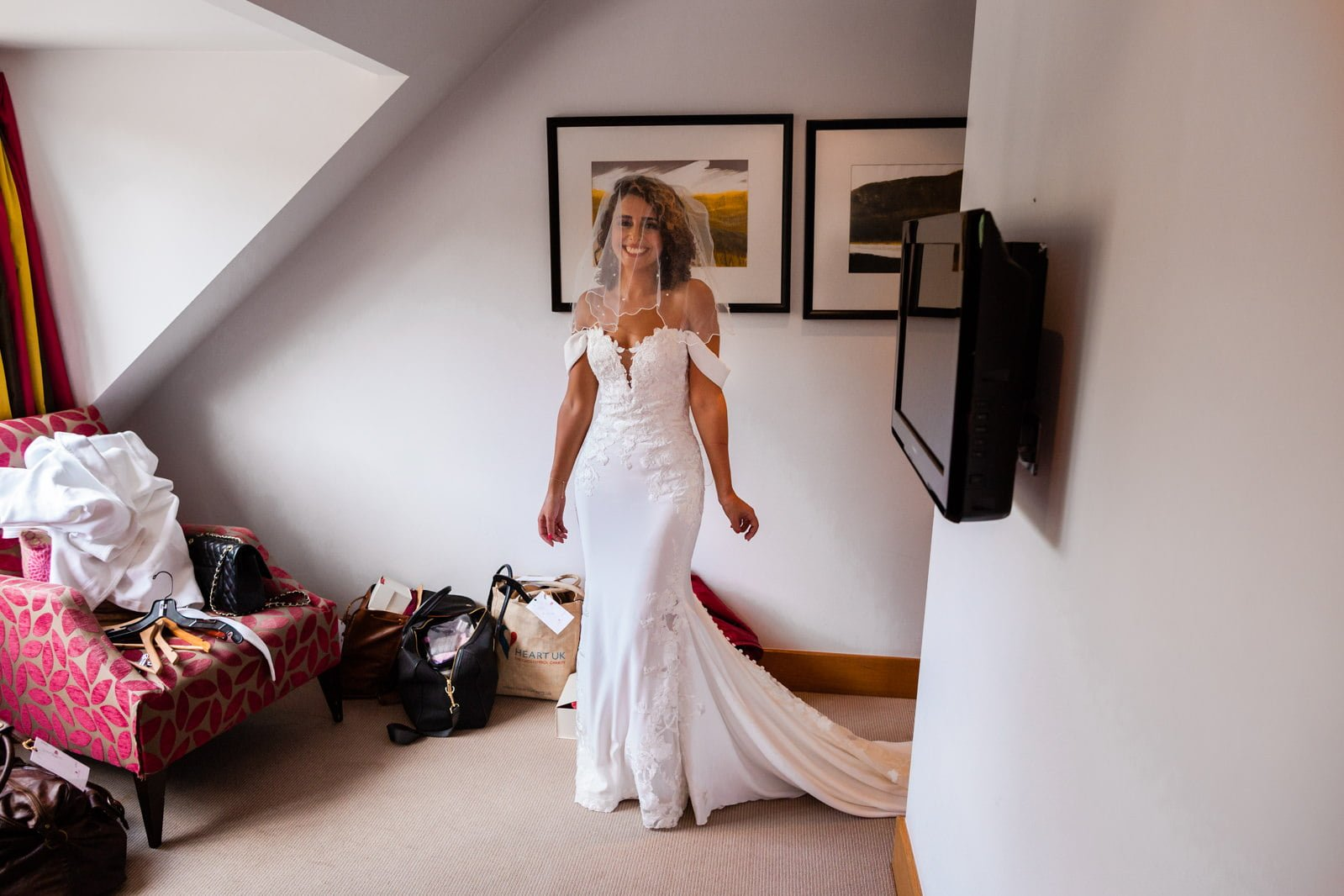 Beautiful Great Fosters Wedding - Melania & Benjamin 14