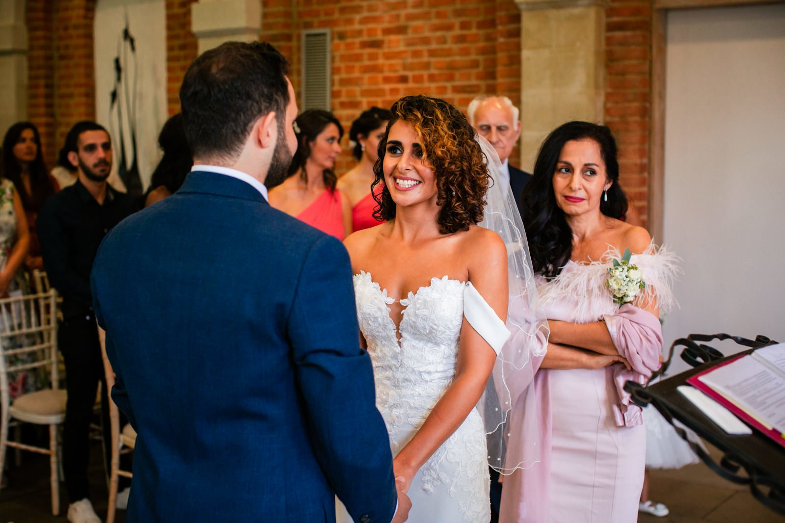 Beautiful Great Fosters Wedding - Melania & Benjamin 20
