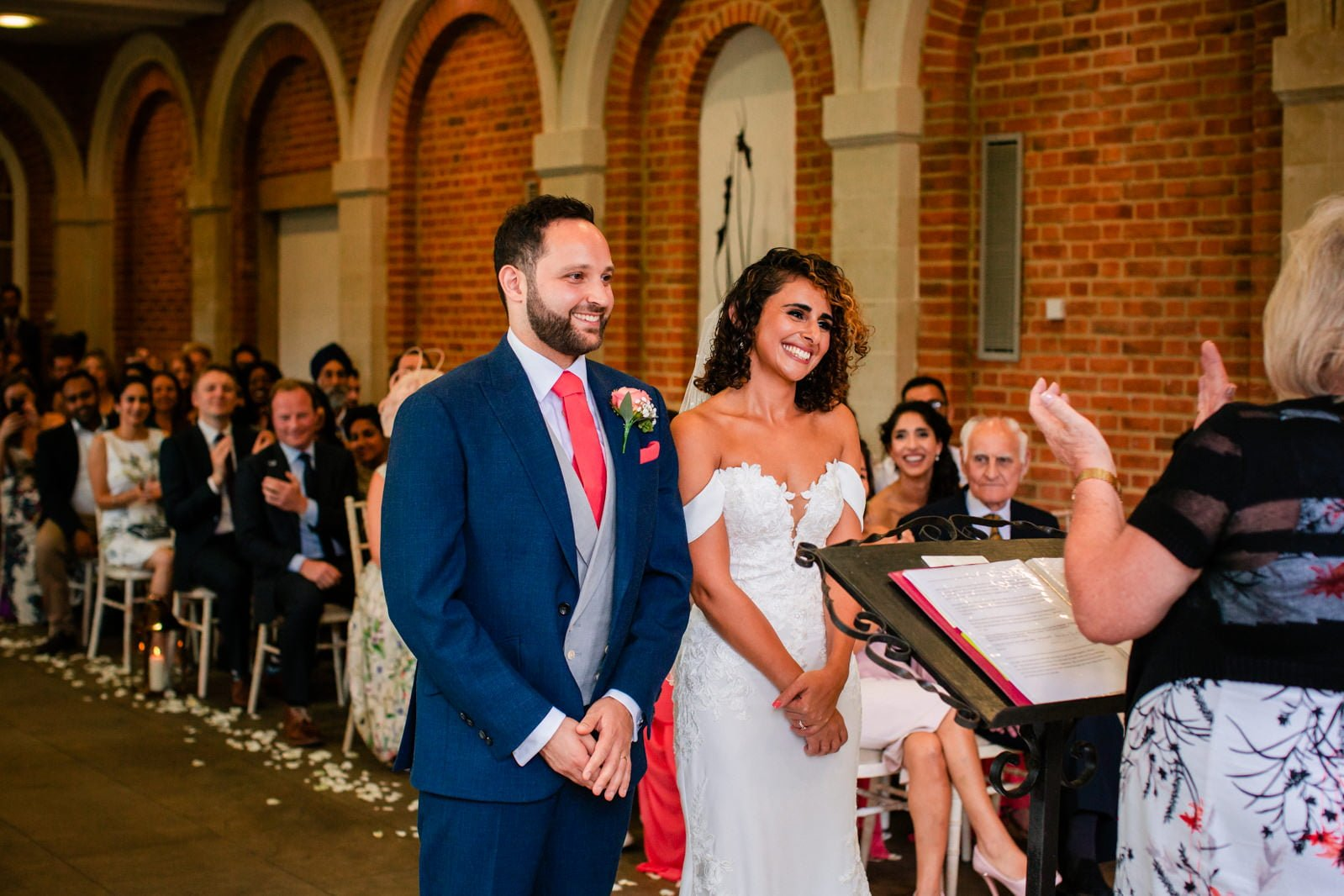 Beautiful Great Fosters Wedding - Melania & Benjamin 25