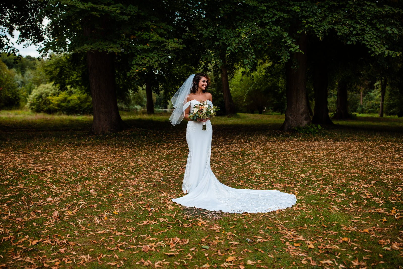 Beautiful Great Fosters Wedding - Melania & Benjamin 31