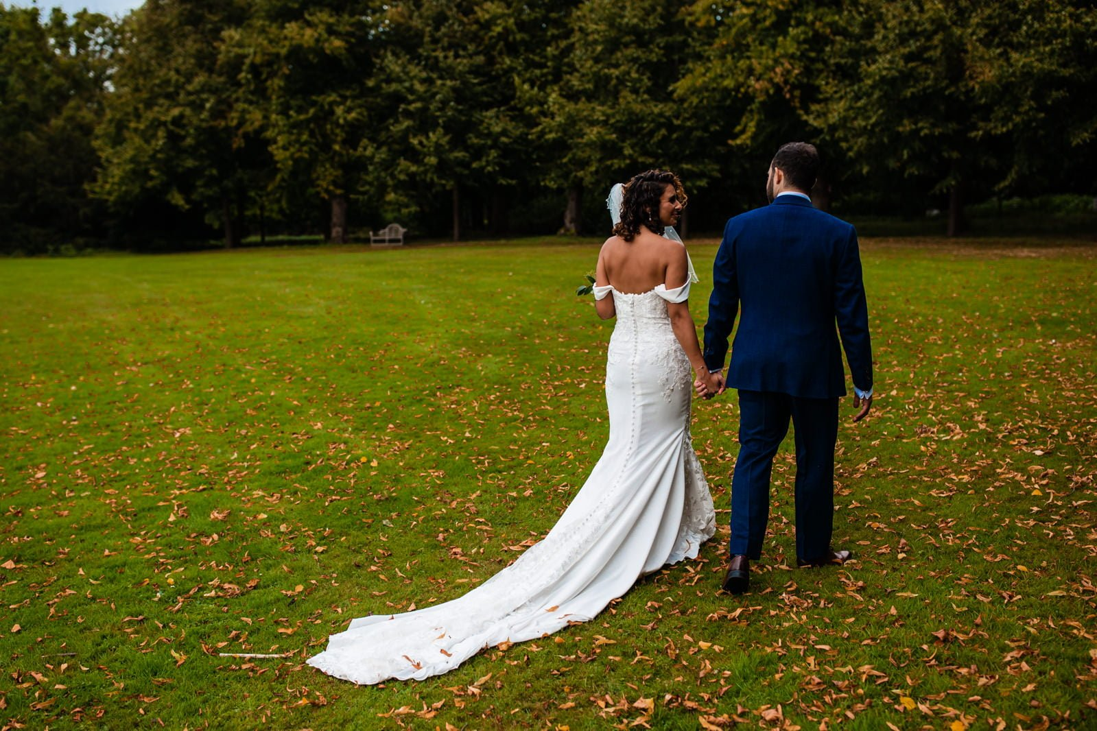 Beautiful Great Fosters Wedding - Melania & Benjamin 35