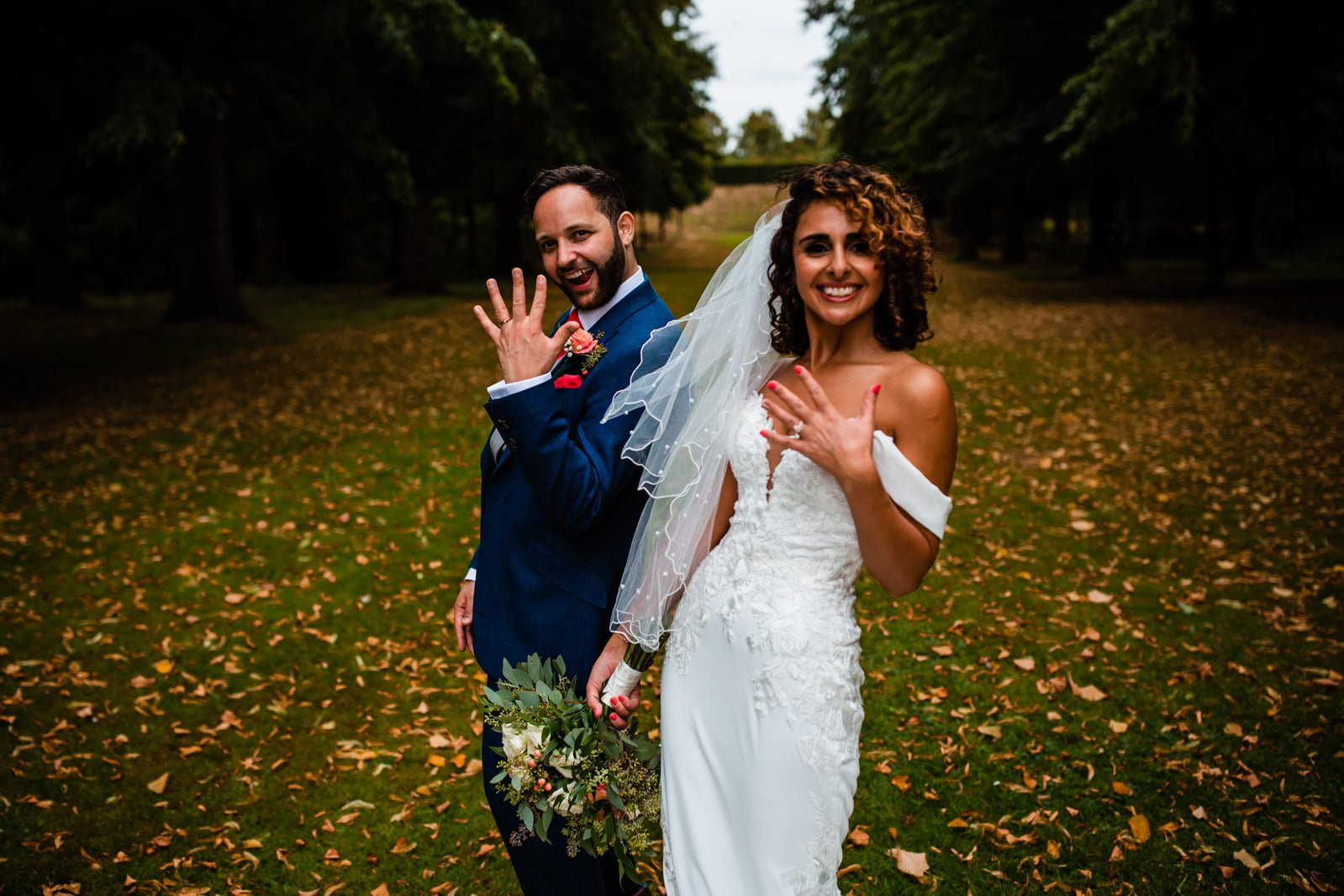 Beautiful Great Fosters Wedding - Melania & Benjamin 36