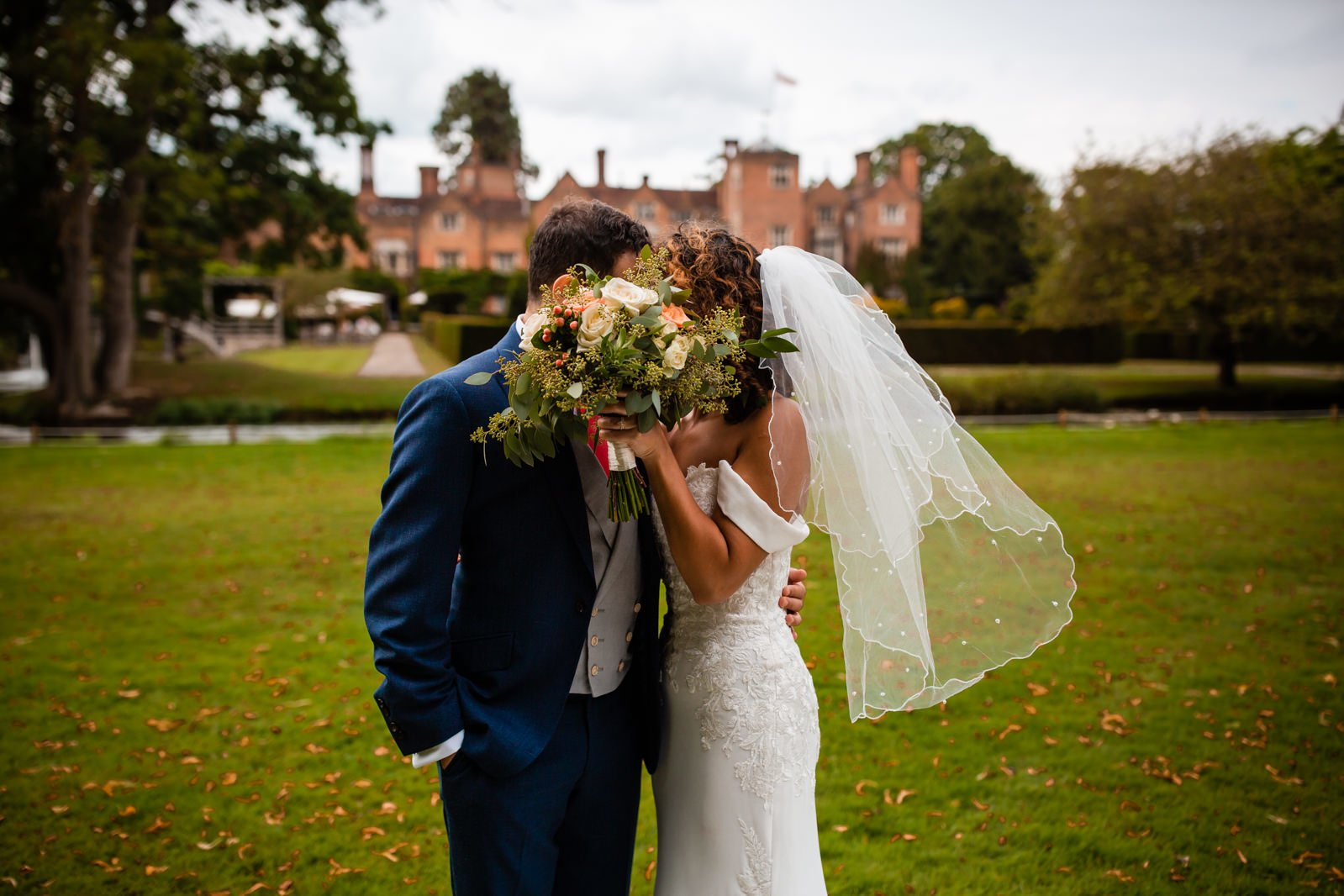 Beautiful Great Fosters Wedding - Melania & Benjamin 37
