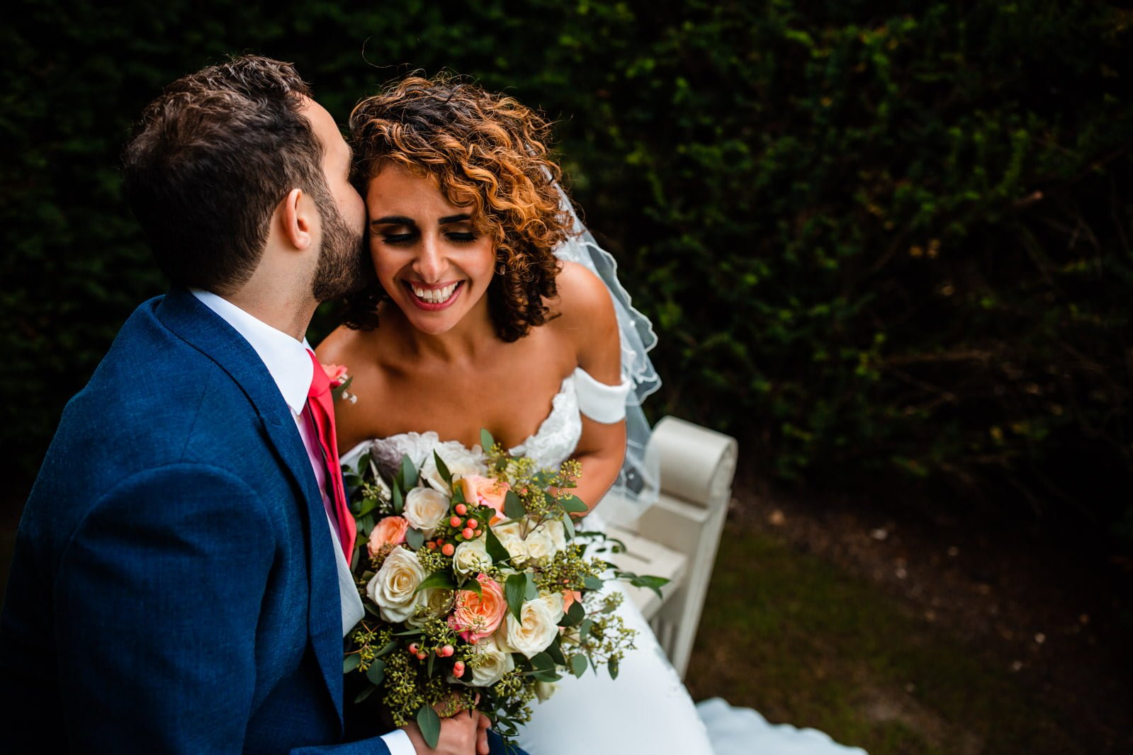 Beautiful Great Fosters Wedding - Melania & Benjamin 38