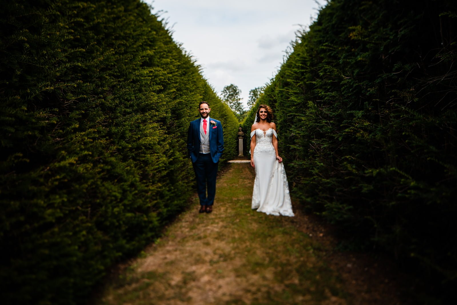 Beautiful Great Fosters Wedding - Melania & Benjamin 40