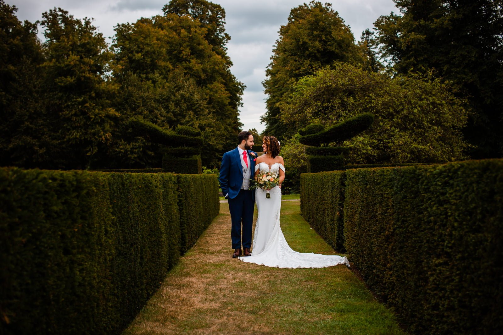 Beautiful Great Fosters Wedding - Melania & Benjamin 41