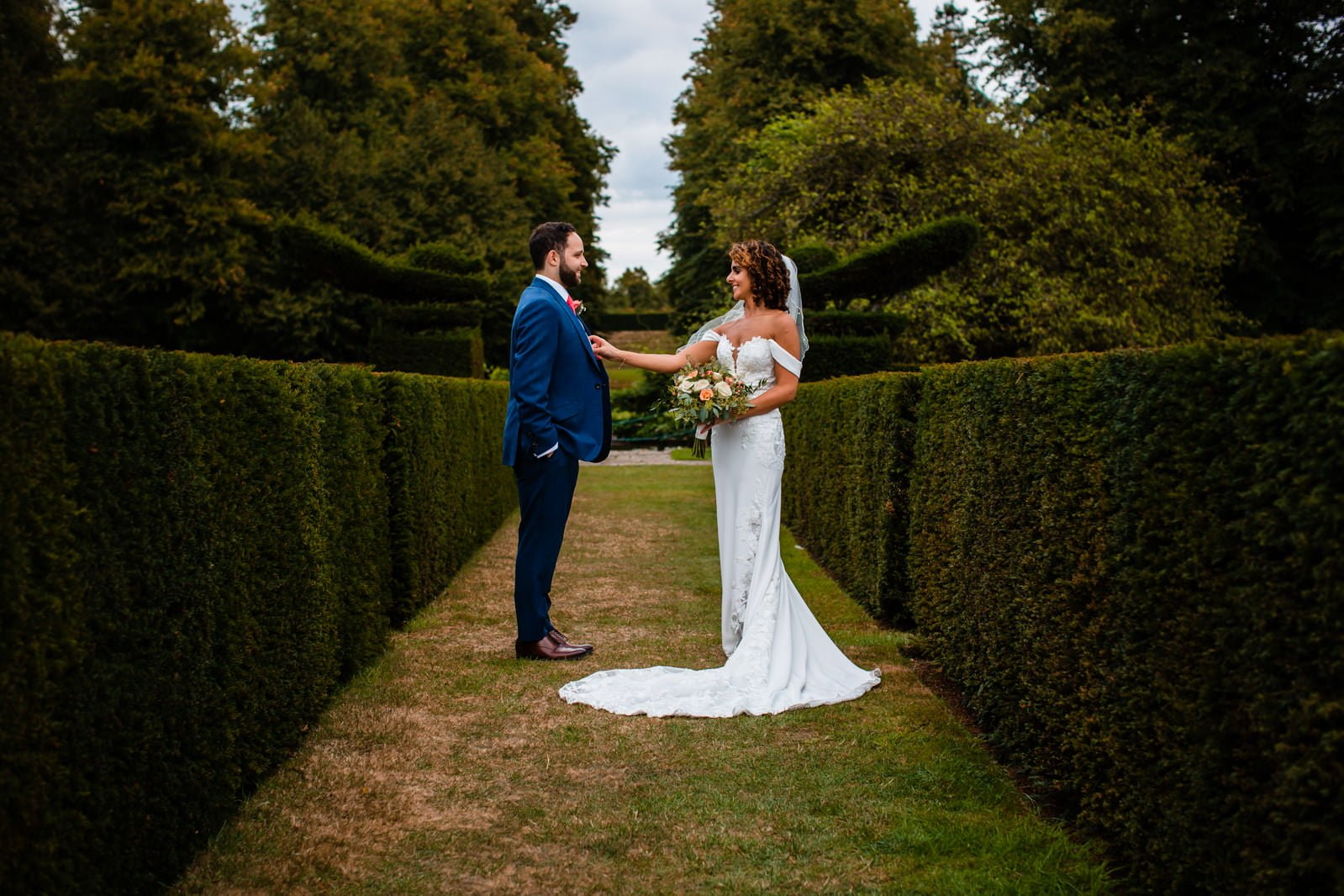 Beautiful Great Fosters Wedding - Melania & Benjamin 42