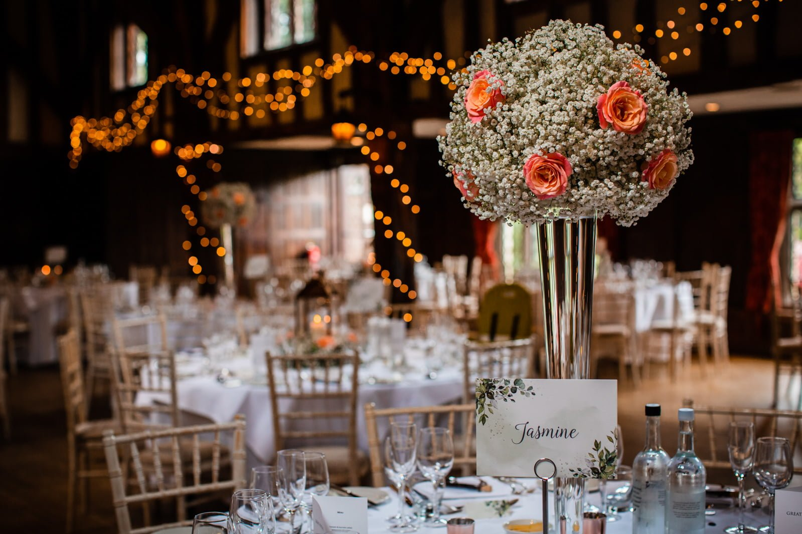 Beautiful Great Fosters Wedding - Melania & Benjamin 45
